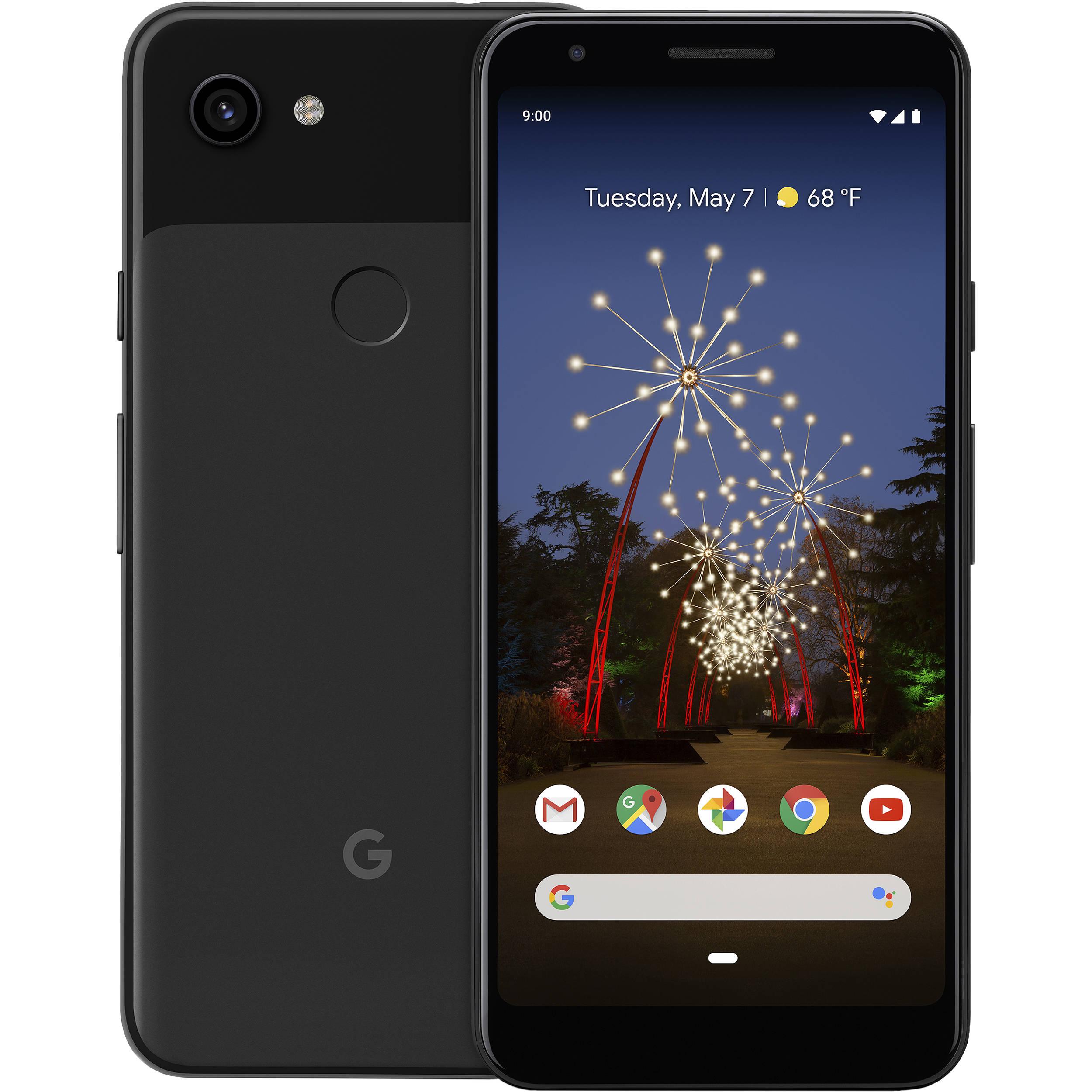 Google Pixel 3a Smartphone Unlocked Just Black