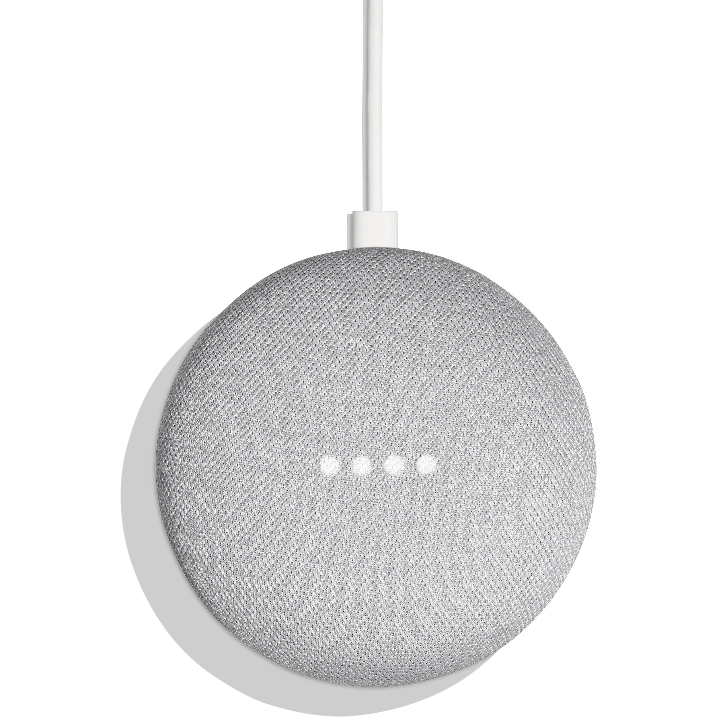 Google home mini chalk ga00210 us b h photo video for Google home mini