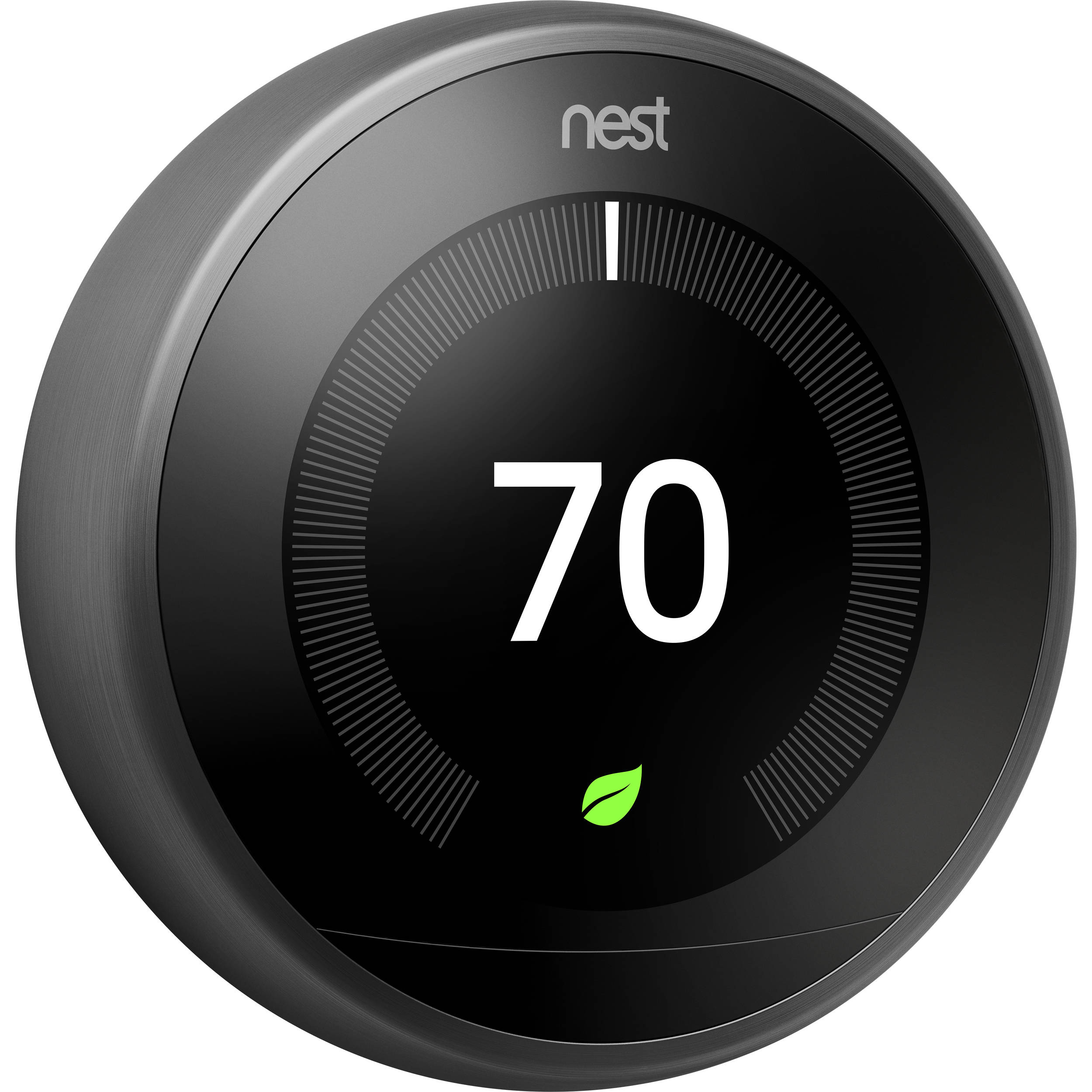Google Nest Learning Thermostat  3rd Generation  Black