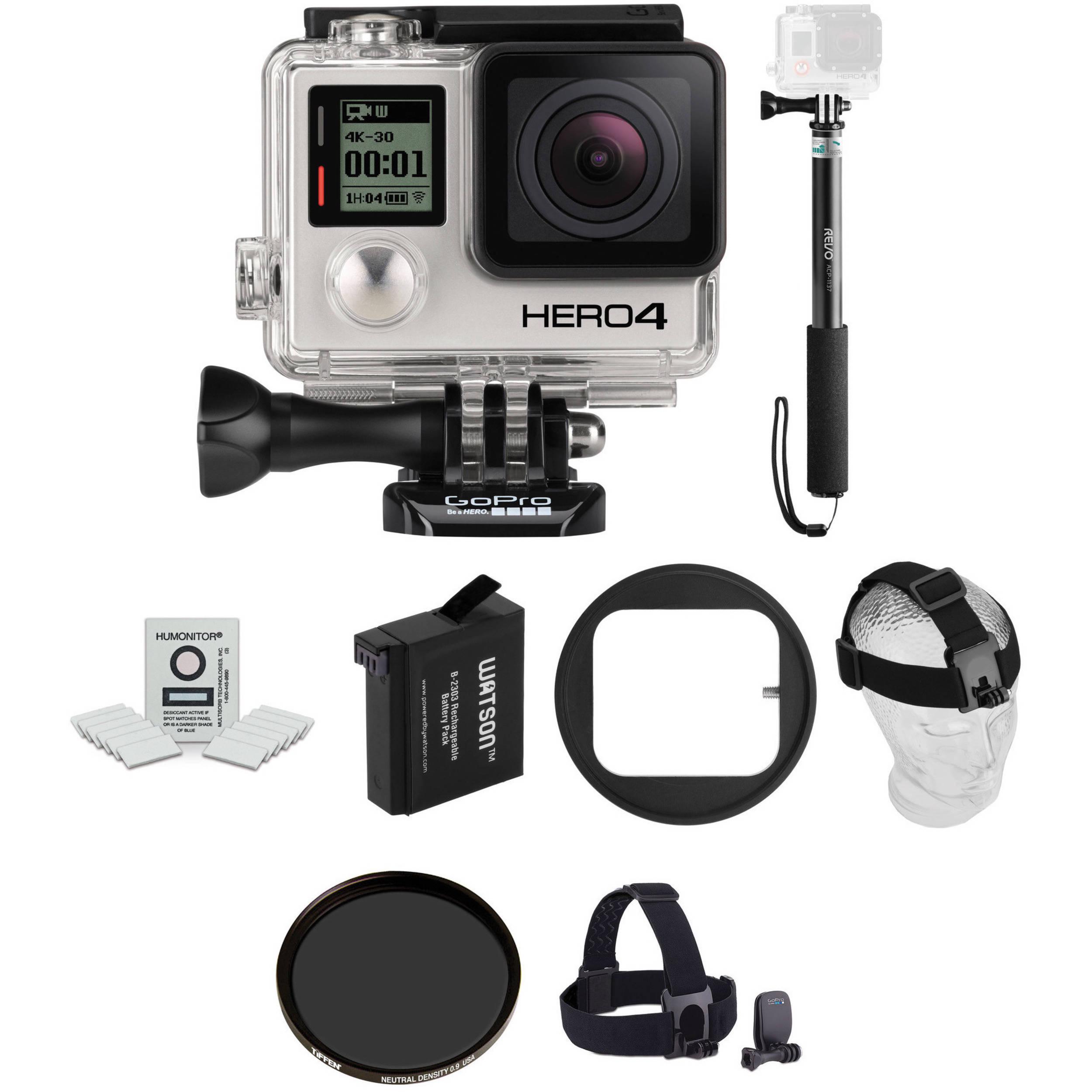GoPro HERO4 Black Ski Kit B&H Photo Video