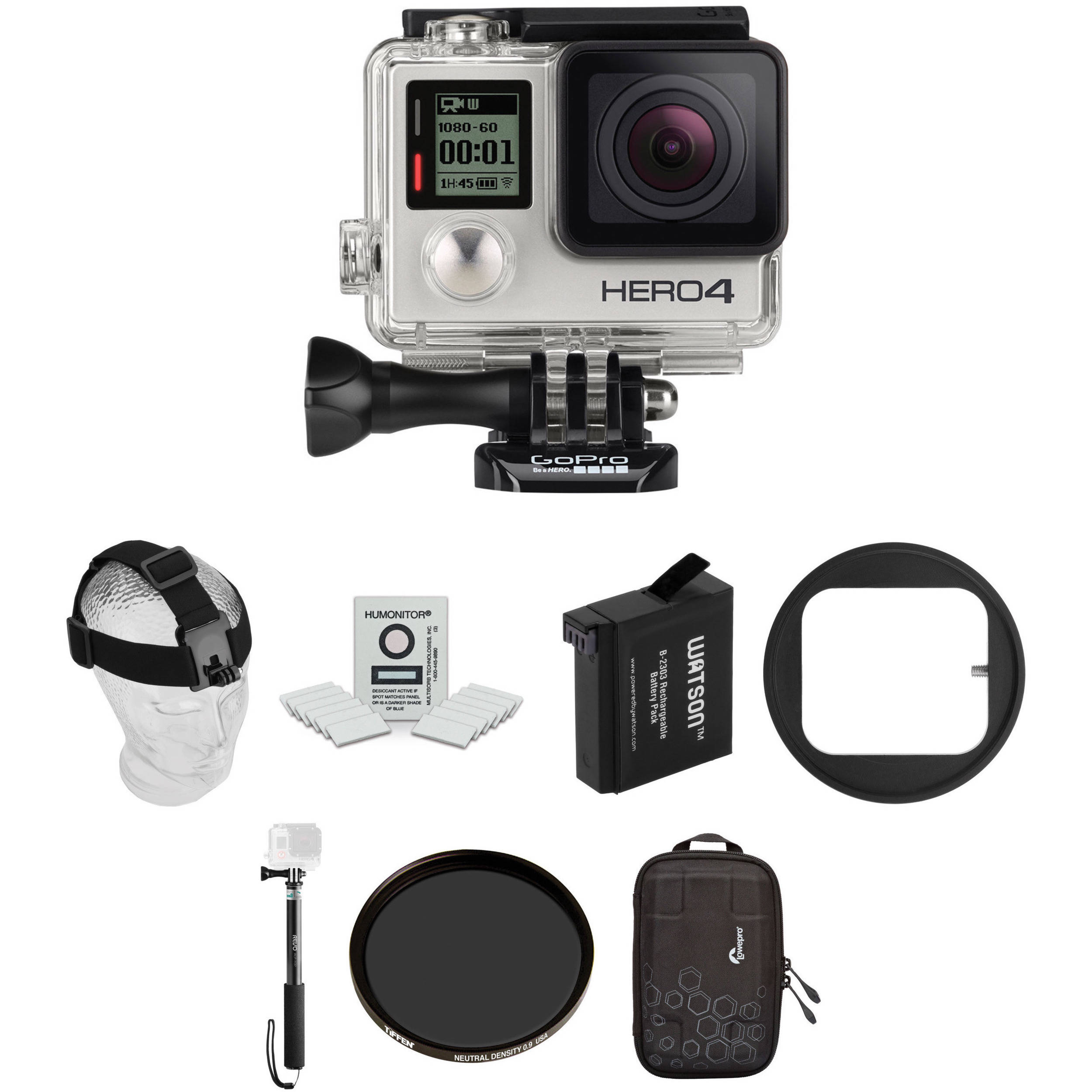 gopro hero4 silver ski kit