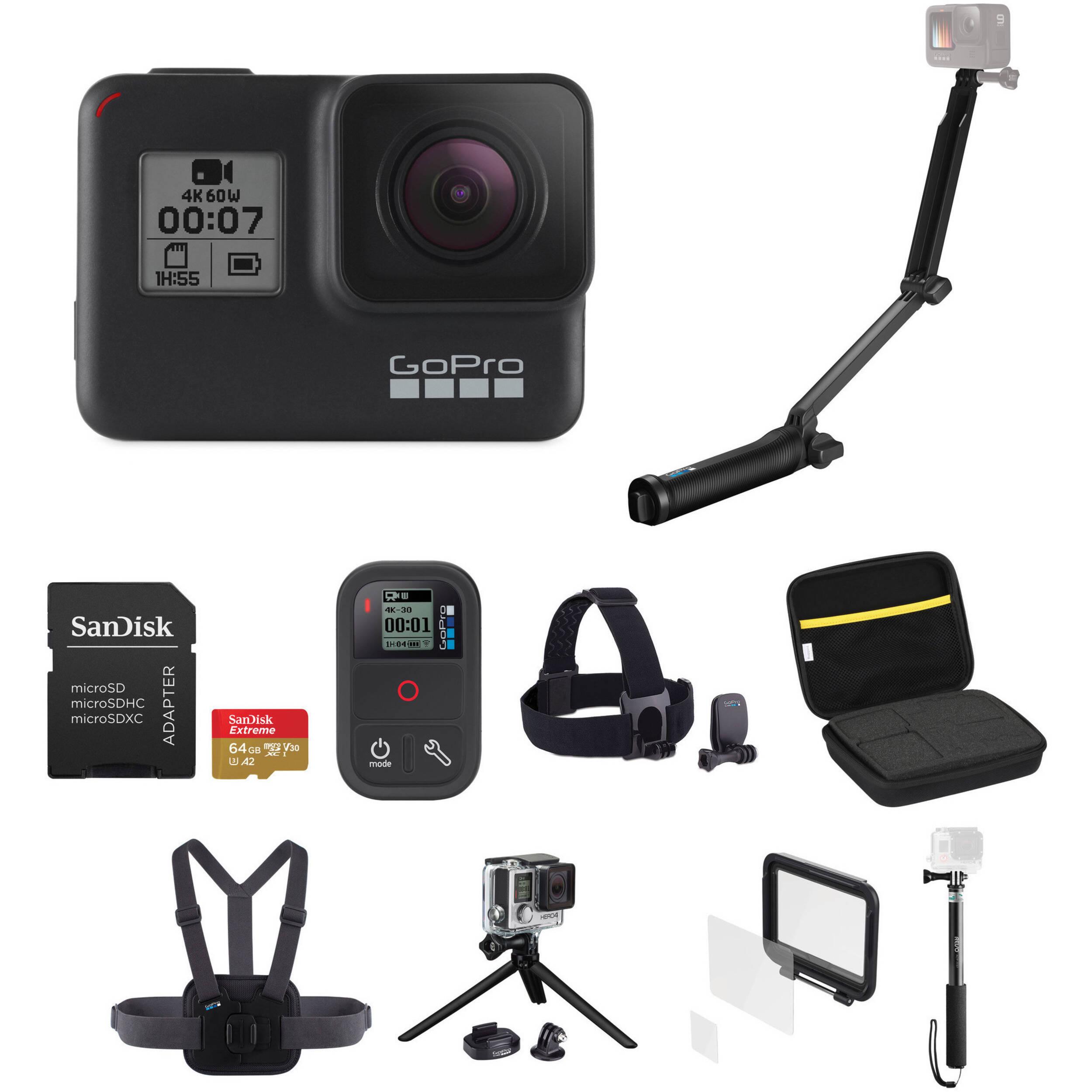 GoPro HERO7 Black Deluxe Kit
