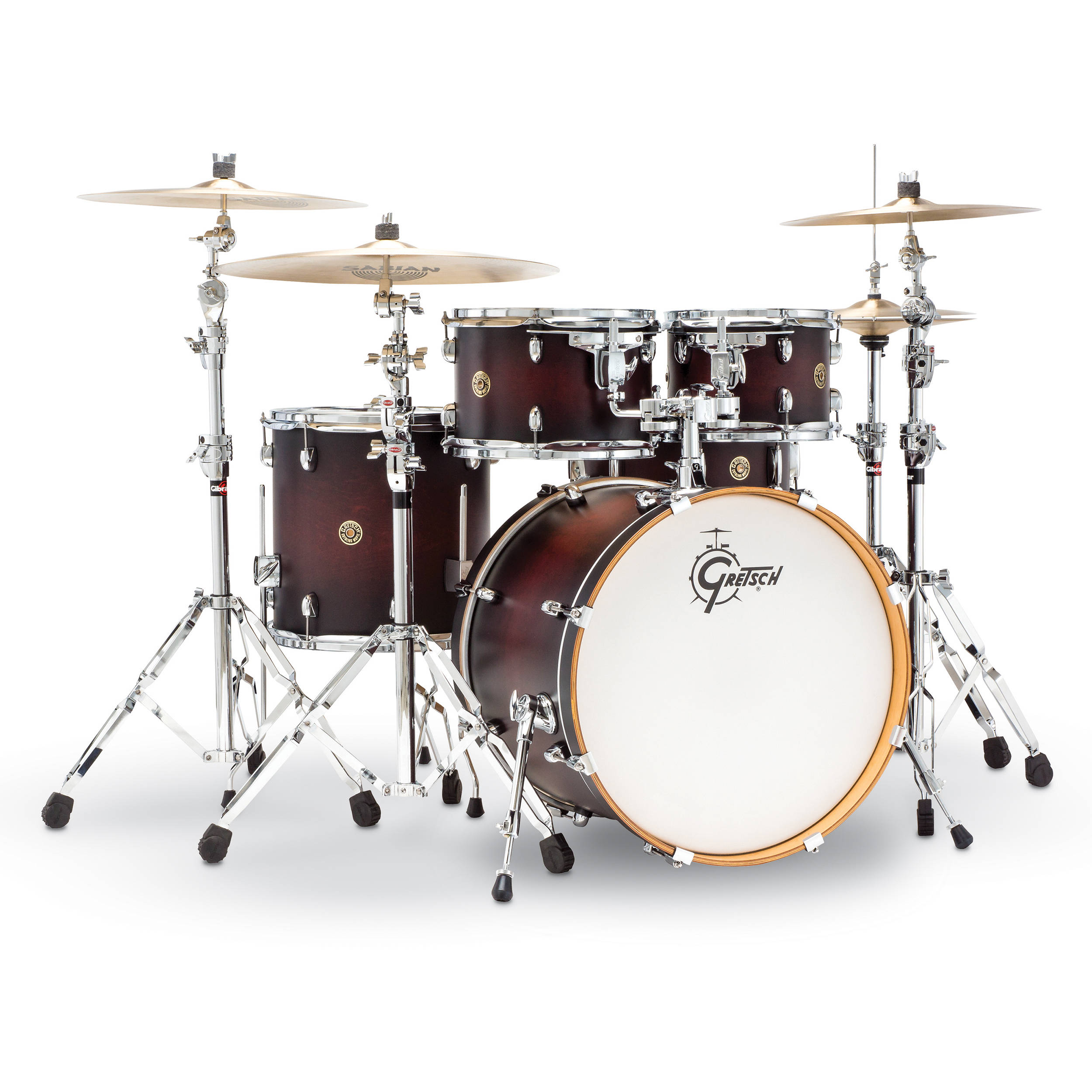 Gretsch Drums Catalina Maple Series 5 Piece Drum Cm1 E605 Sdcb