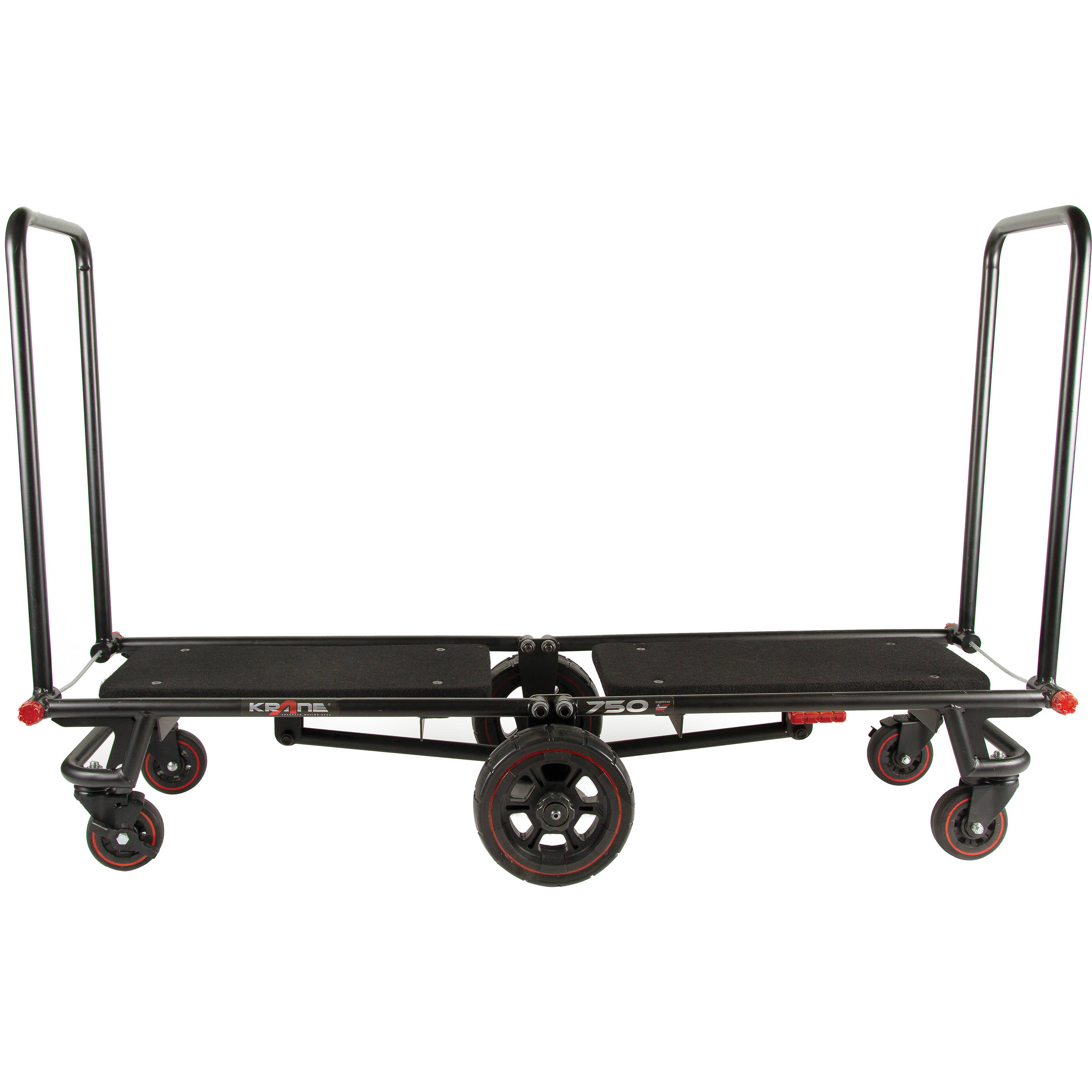 Foldable Utility Cart With Wheels Yaheetech Folding