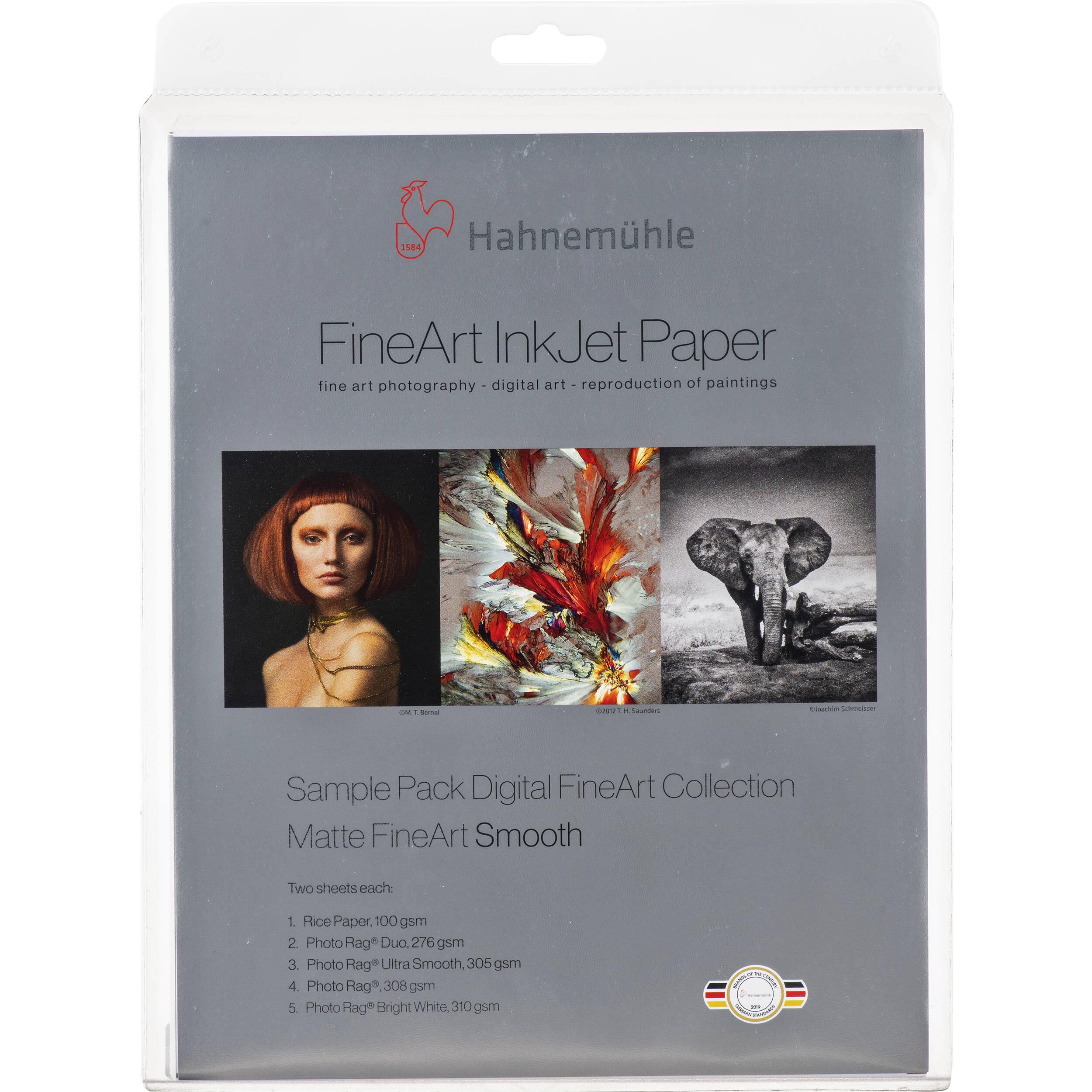 Hahnemühle Matte Fine Art Smooth Archival Inkjet Paper 11640303