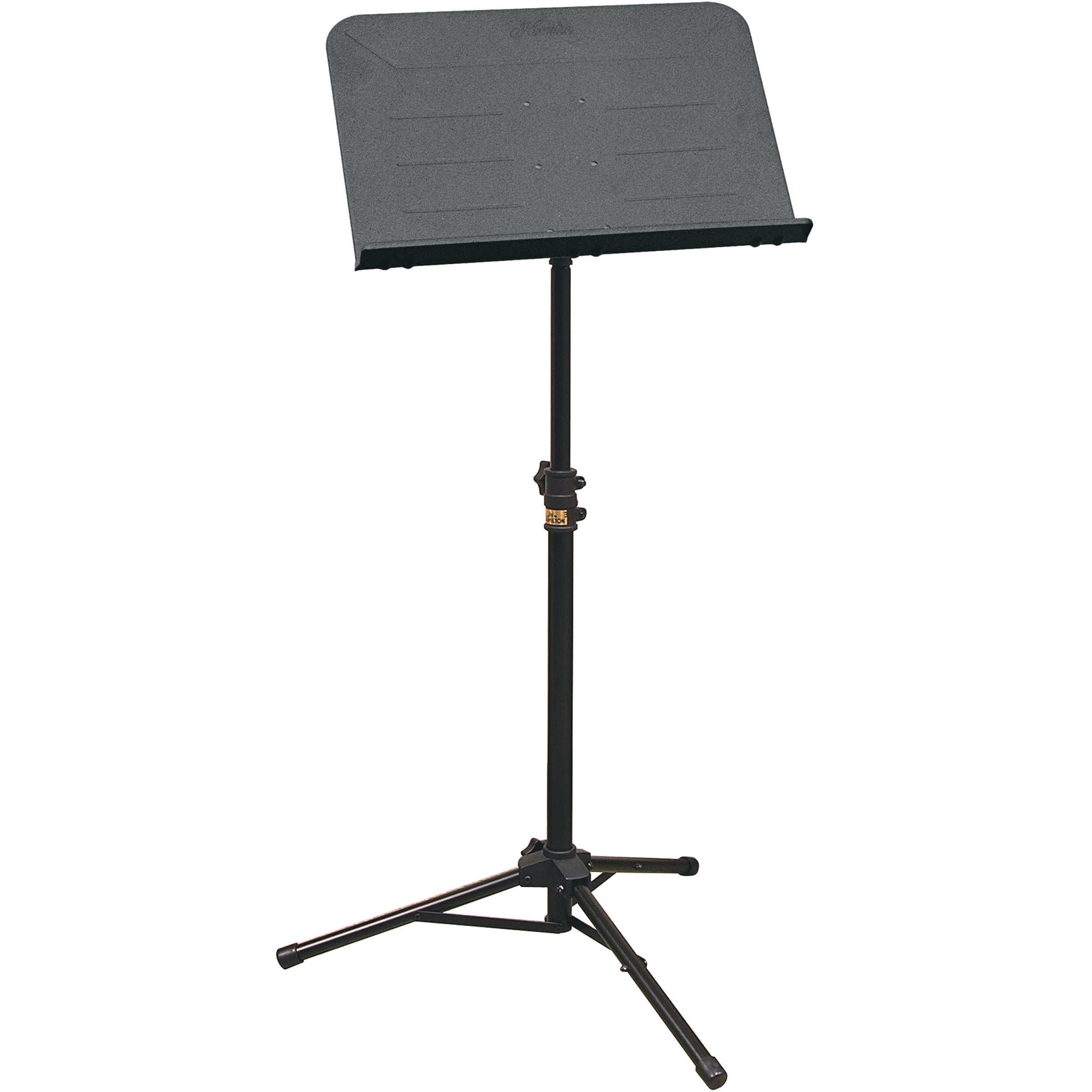 hamilton stands kb990bl portable sheet music stand kb990bl b h