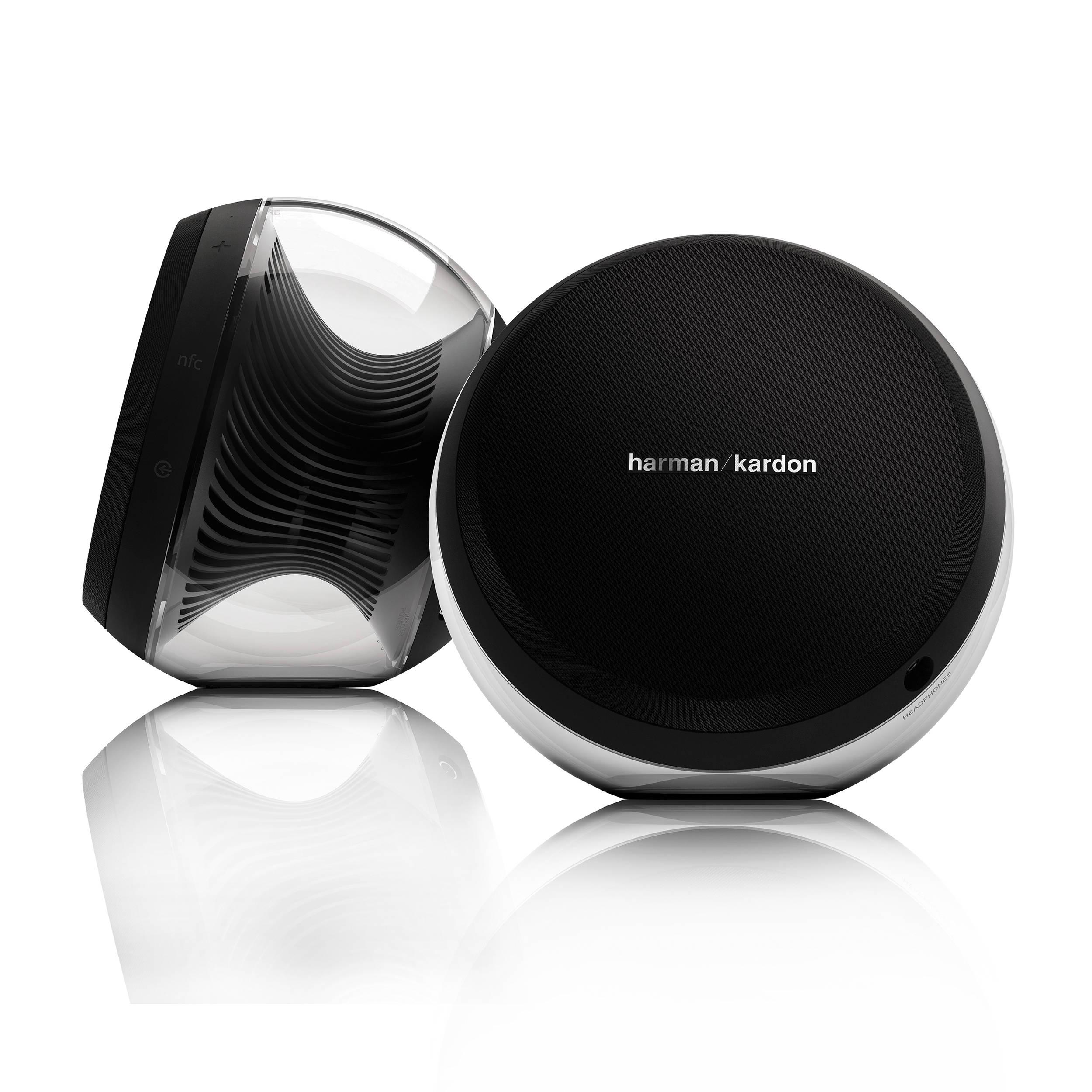 harman kardon nova wireless stereo speaker system hknovablkam. Black Bedroom Furniture Sets. Home Design Ideas