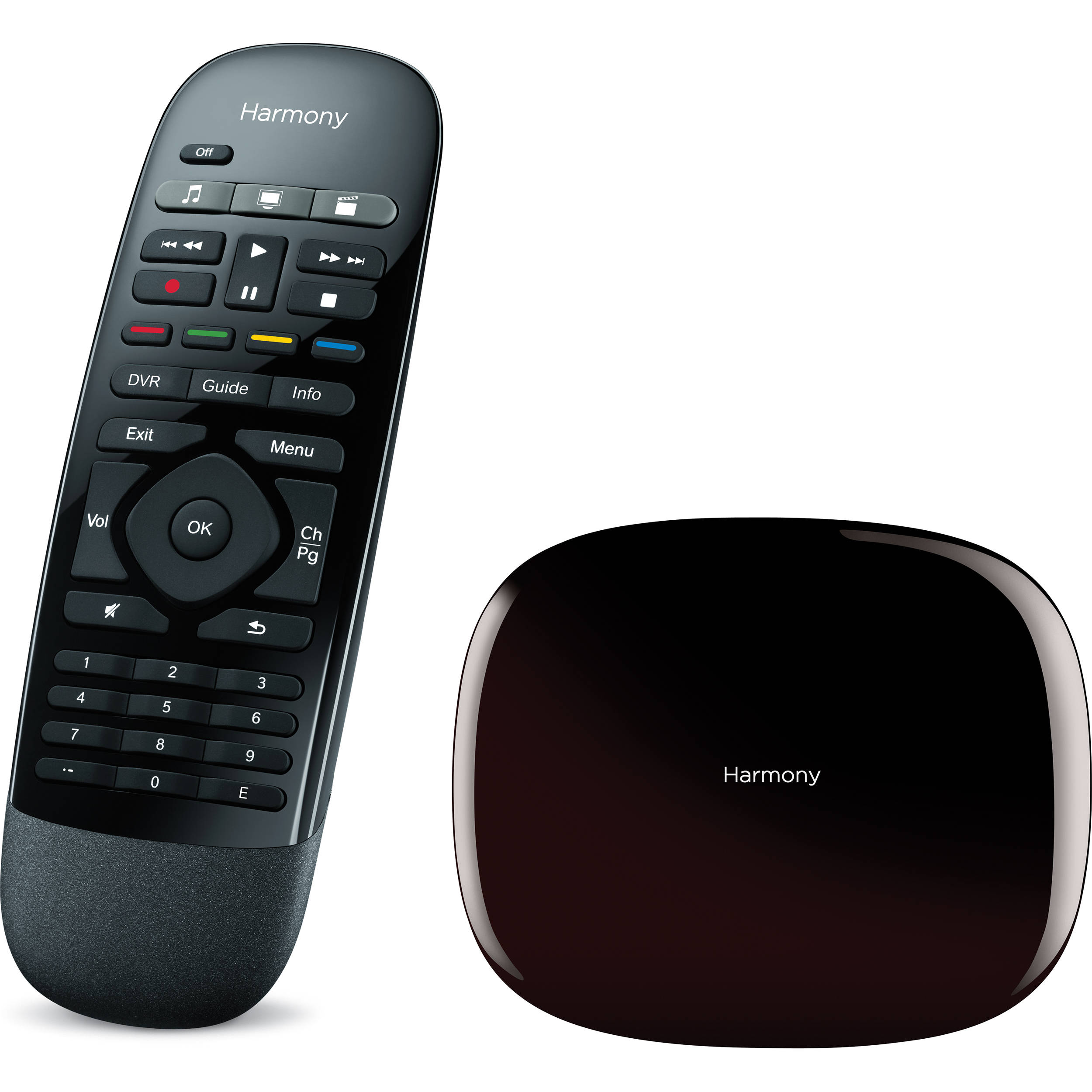 a266c166f37 Harmony/Logitech Harmony Smart Control. This image is for illustrative  purposes only