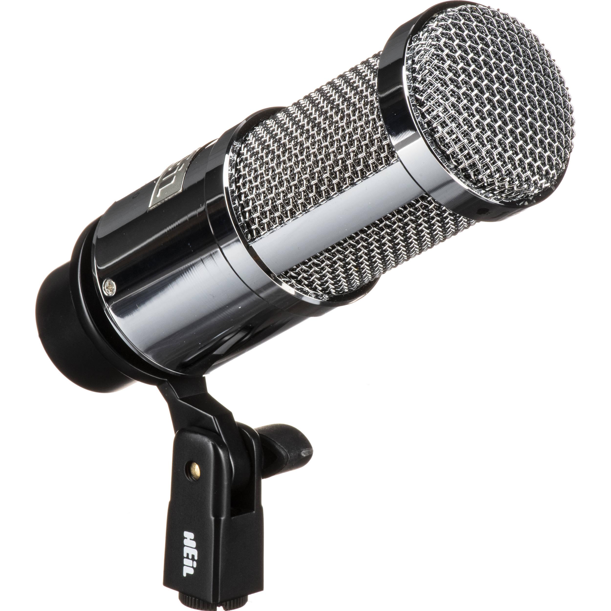 heil sound pr 40 dynamic cardioid studio microphone pr40chrome. Black Bedroom Furniture Sets. Home Design Ideas