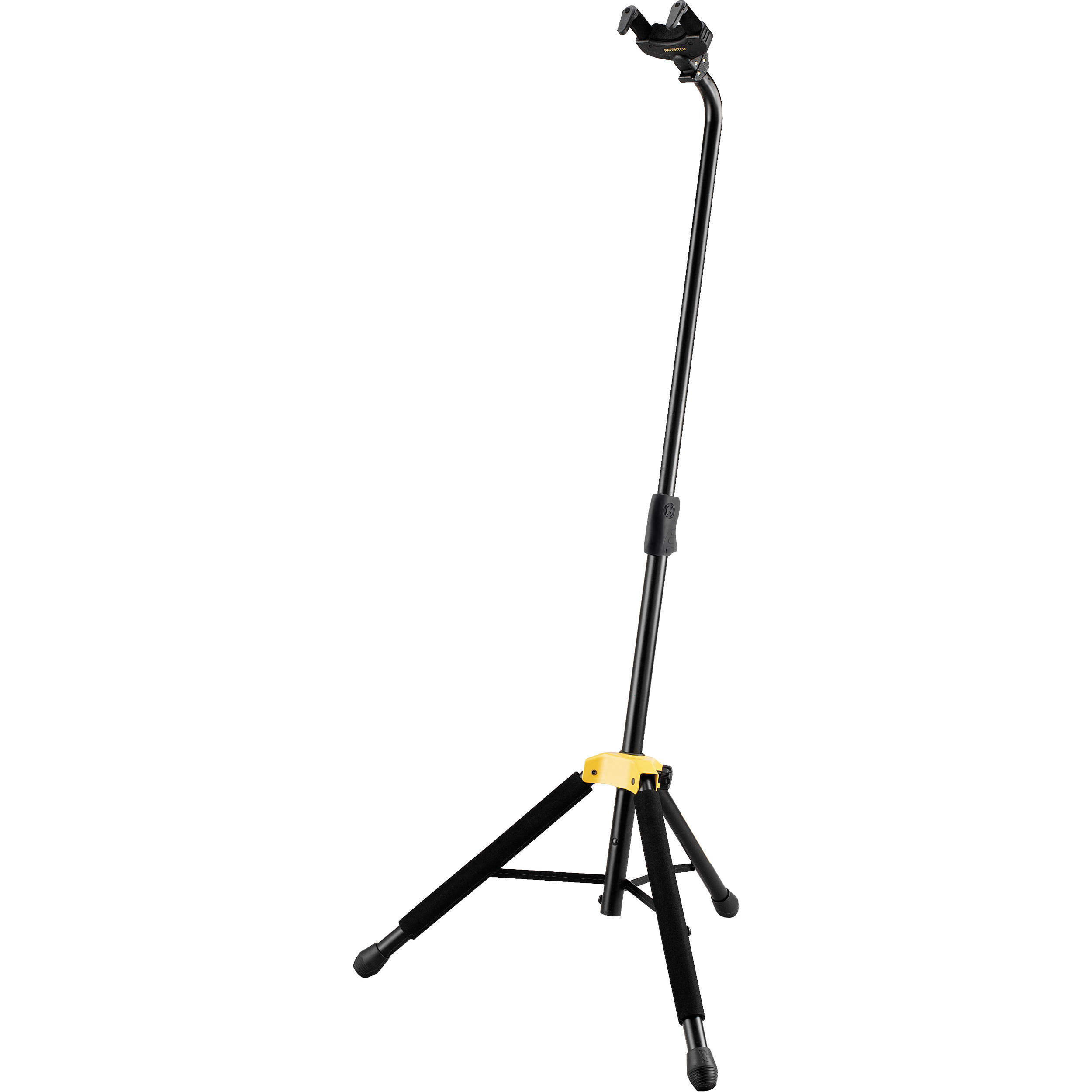Hercules stands auto grip system ags single guitar stand for Stand auto