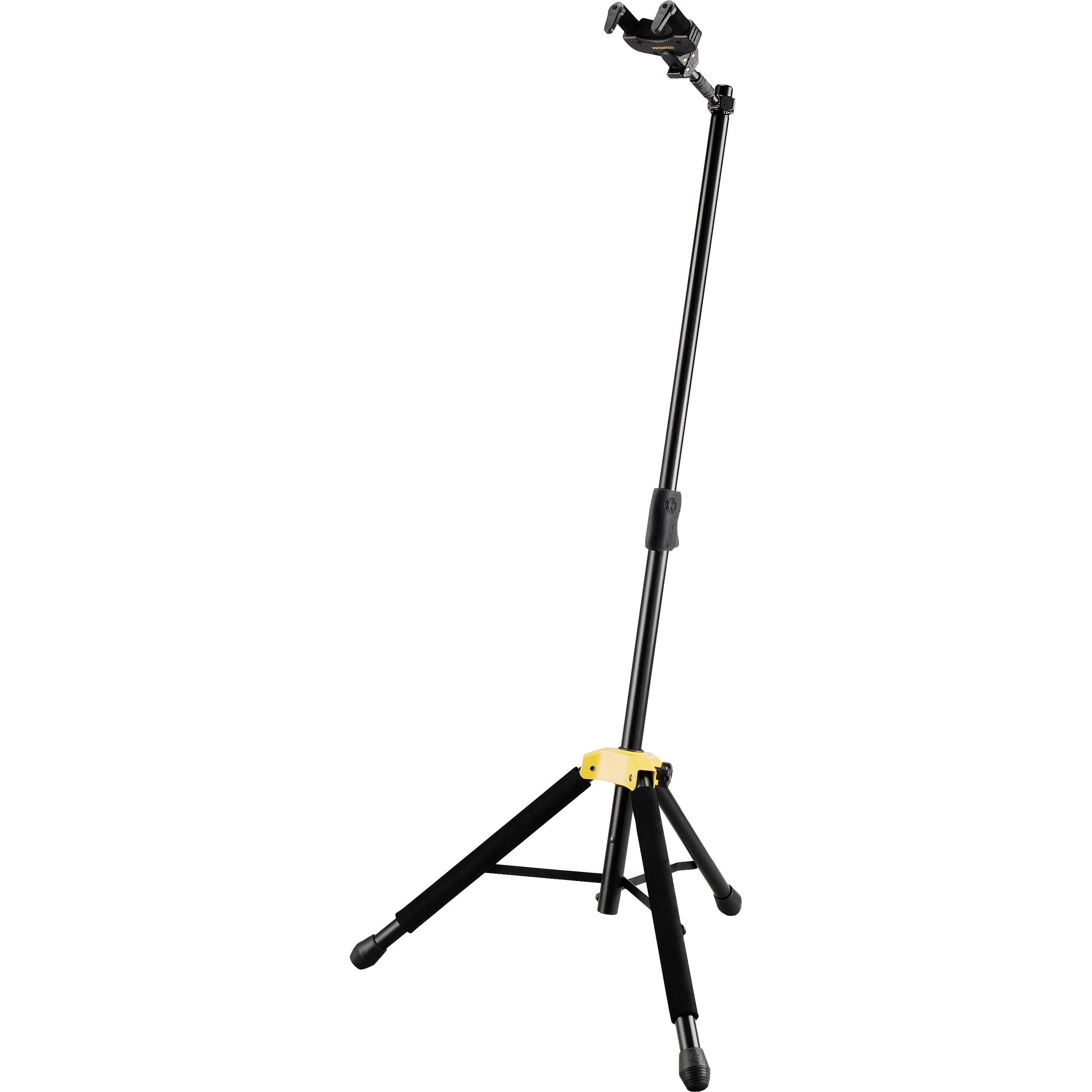 hercules stands auto grip system ags single guitar stand gs415b. Black Bedroom Furniture Sets. Home Design Ideas