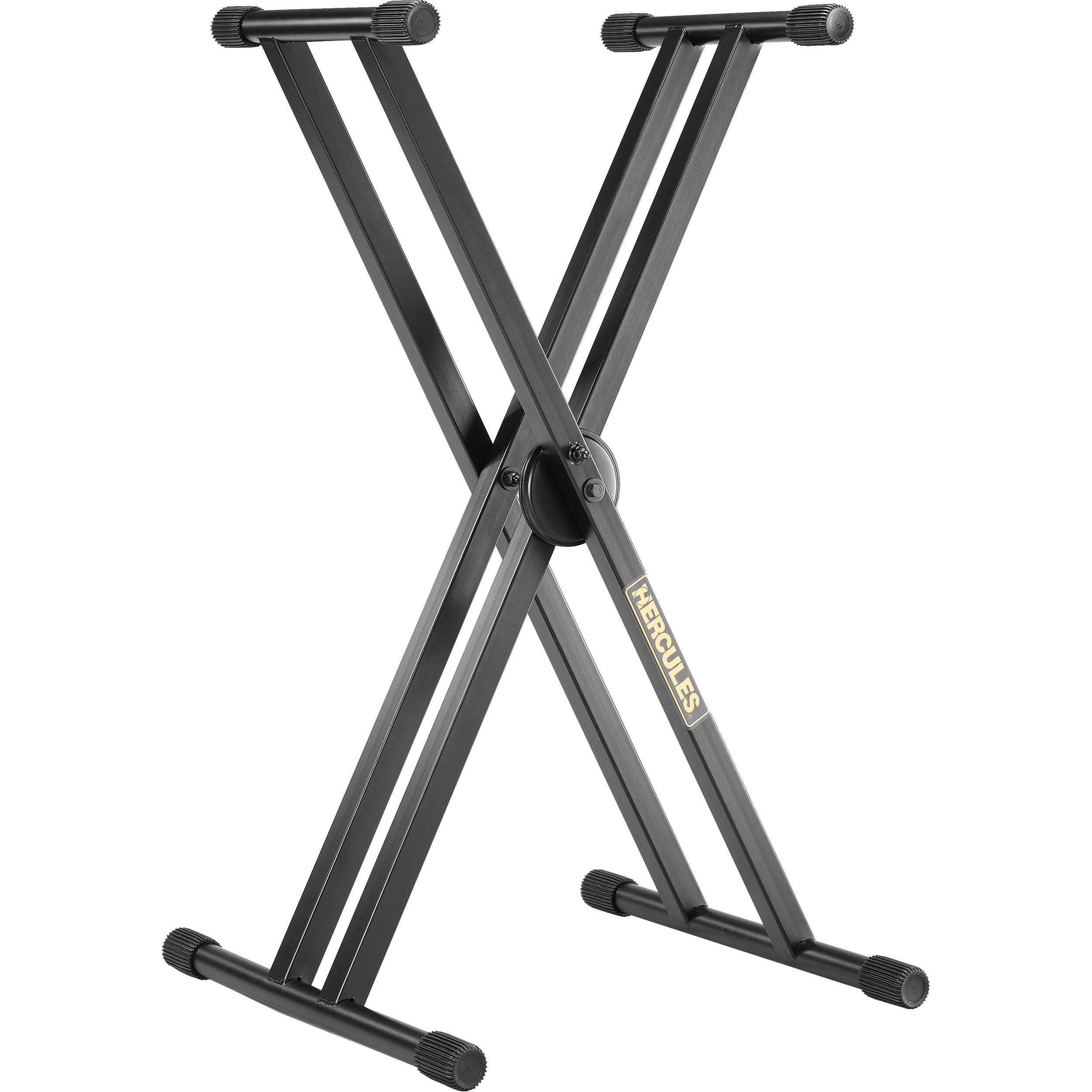 Hercules Stands Ez Lok Double X Keyboard Stand Ks120b B Amp H