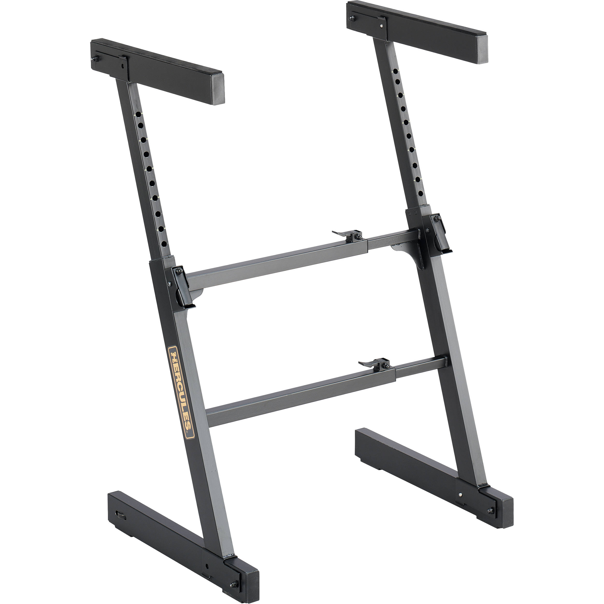 Keyboard Stand Designs : Hercules stands auto lock z style keyboard stand ks b h
