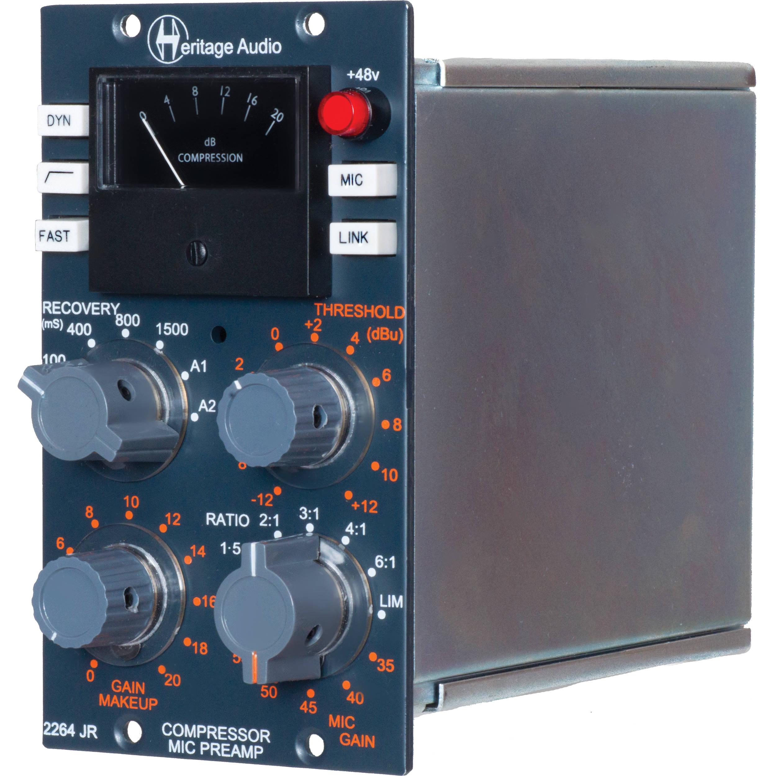 heritage audio 2264jr 500 series compressor and ha2264jr b h. Black Bedroom Furniture Sets. Home Design Ideas