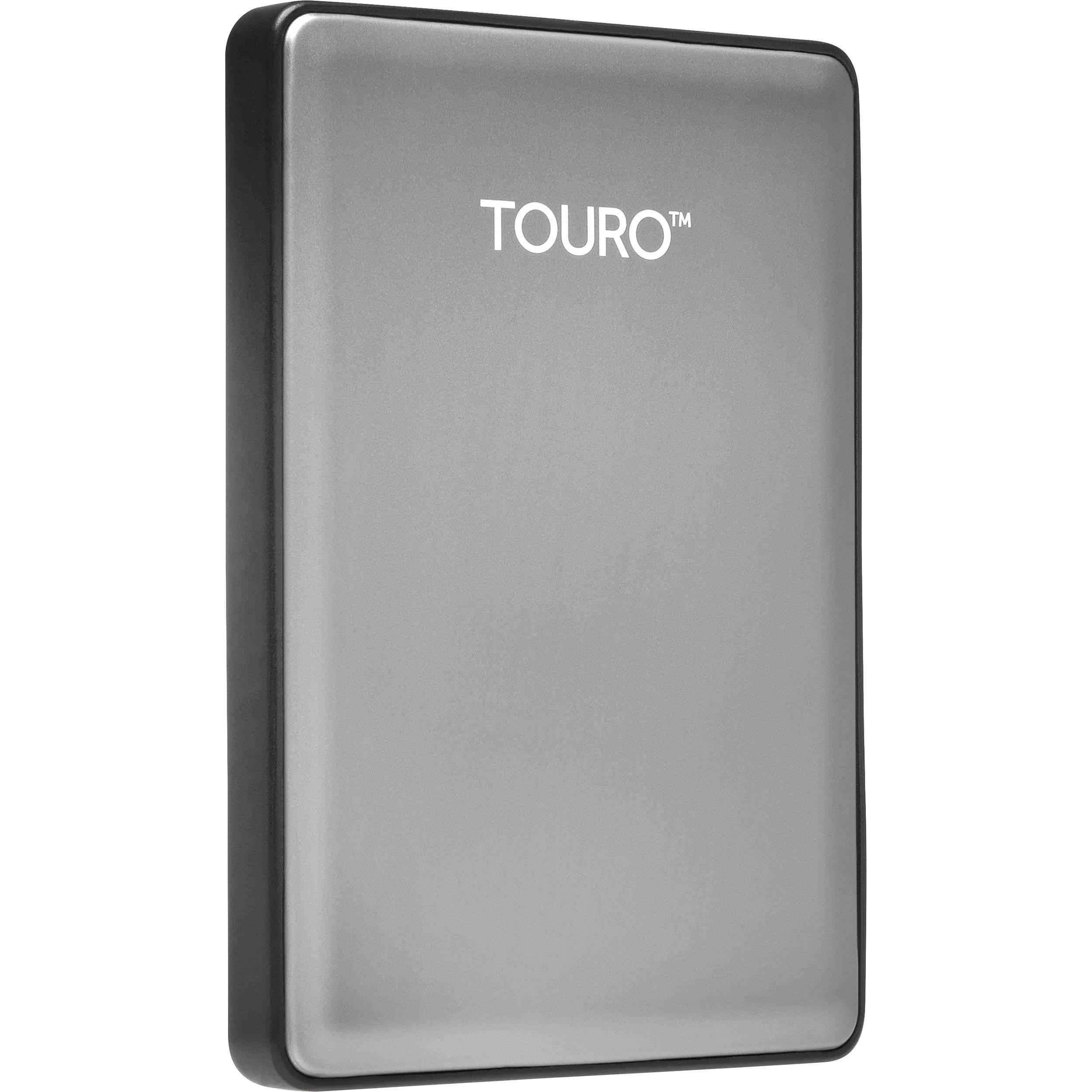 HGST 500GB Touro S Ultra-Portable External Hard Drive 0S03698