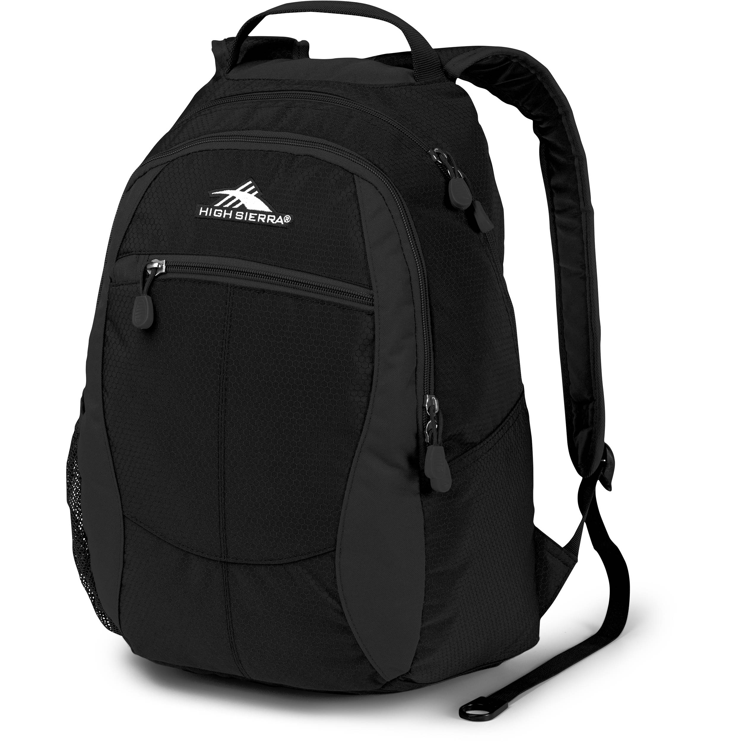 328ecaf74 High Sierra Curve Backpack (Black) 53632-3054 B&H Photo Video