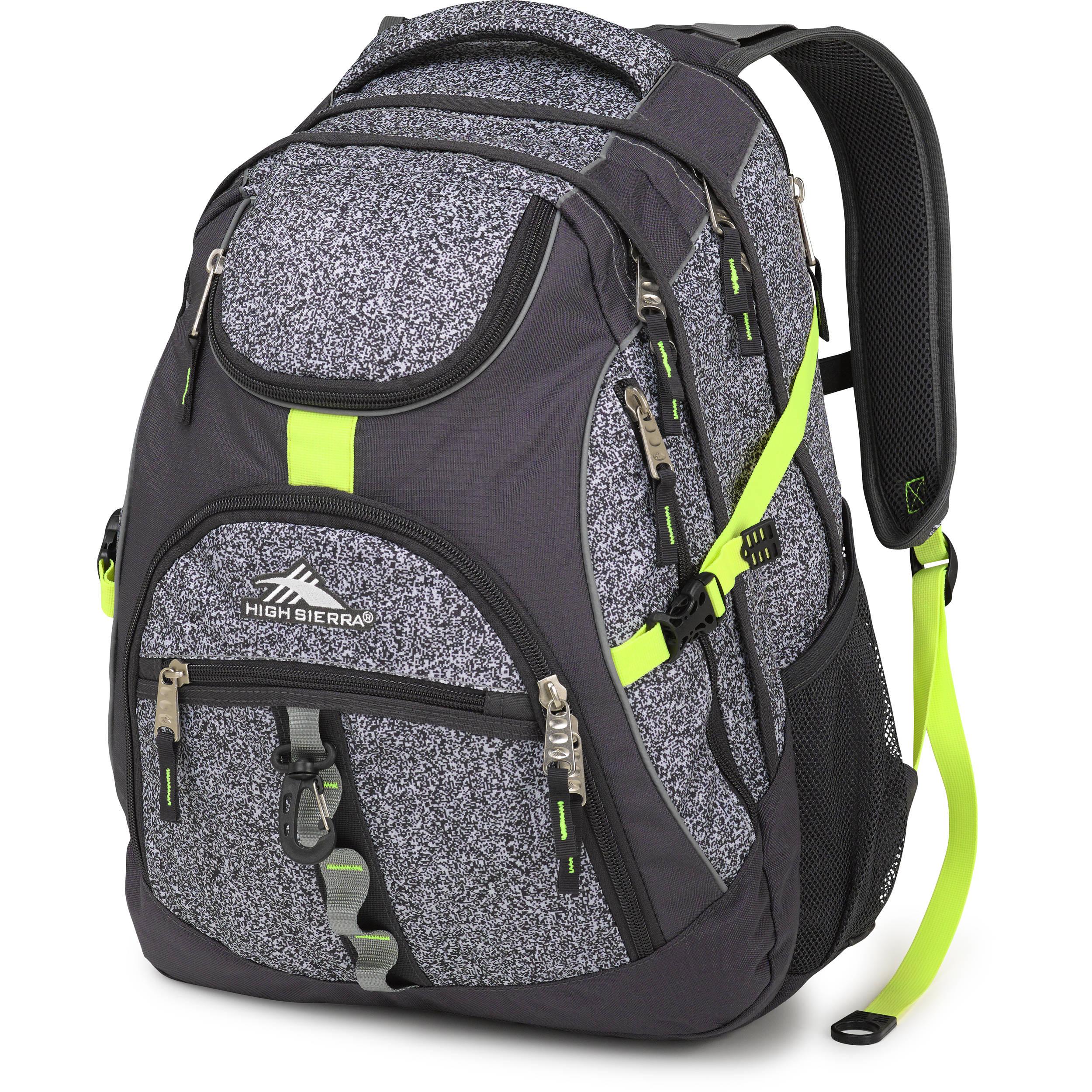 f3983c481f High Sierra Access Backpack (Static   Mercury   Zest) 53671-0700
