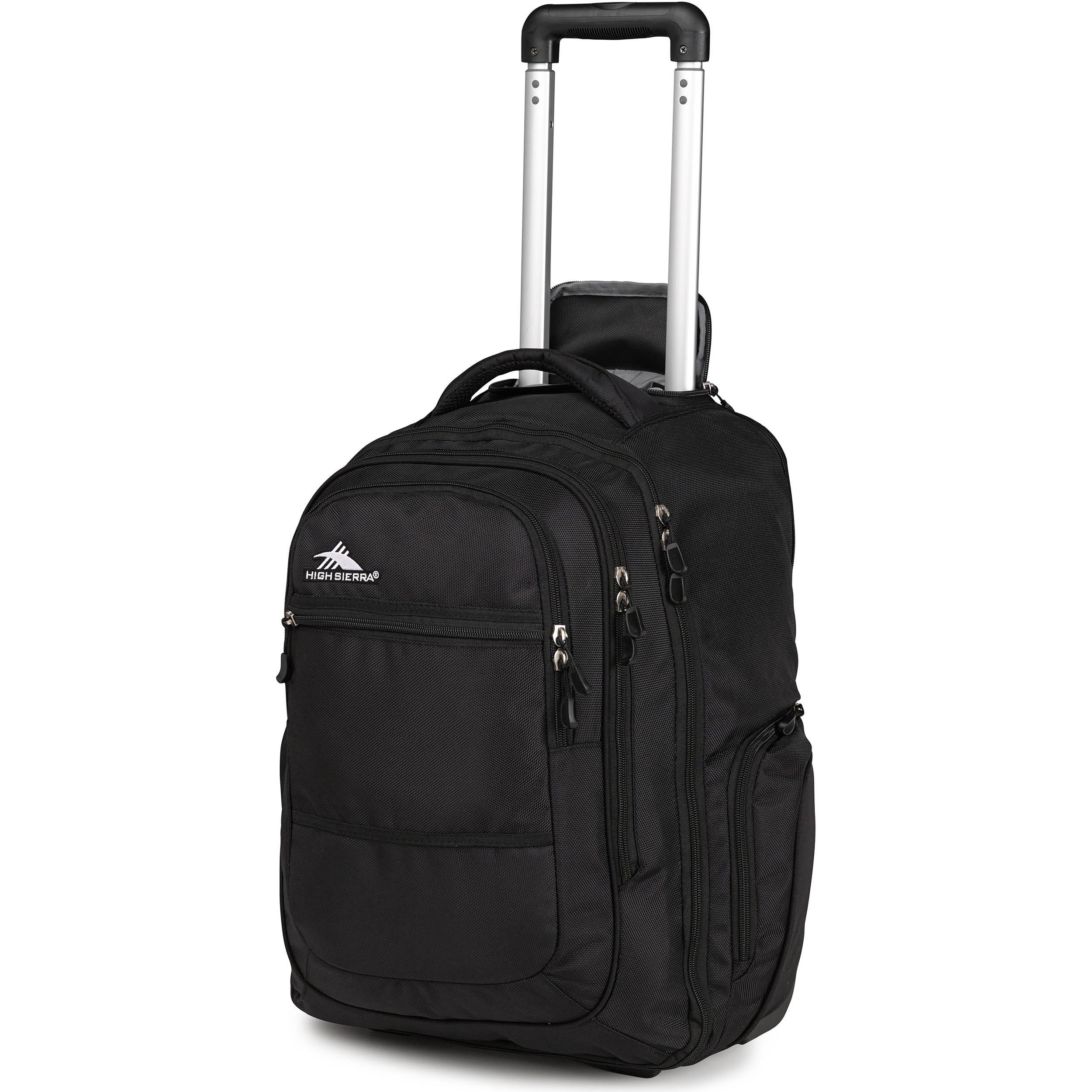 High Sierra Rev Wheeled Backpack (Black) 58420-1041 B&H Photo