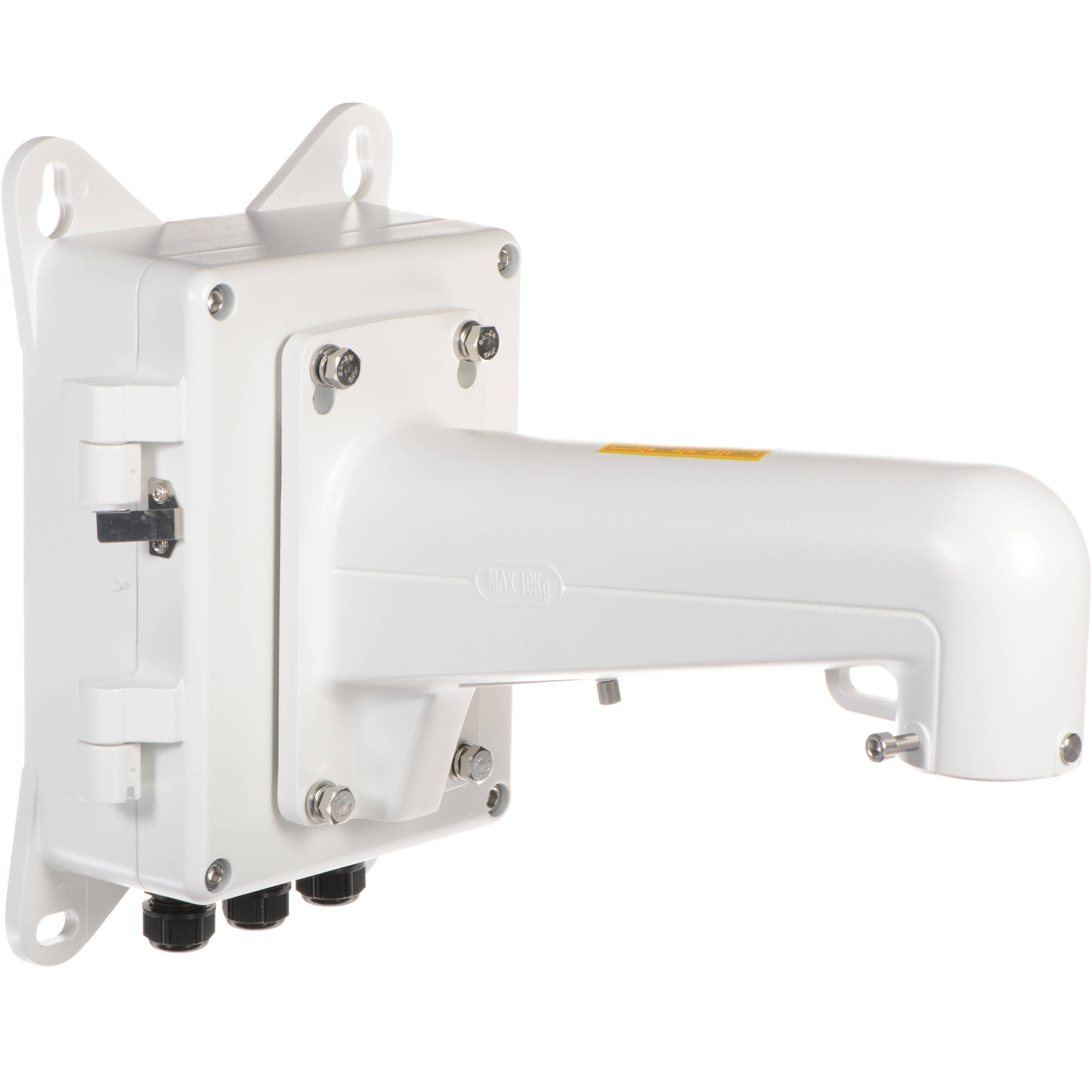 Hikvision jbp w outdoor ptz junction box with wall mount jbpw hikvision jbp w outdoor ptz junction box with wall mount bracket sciox Choice Image