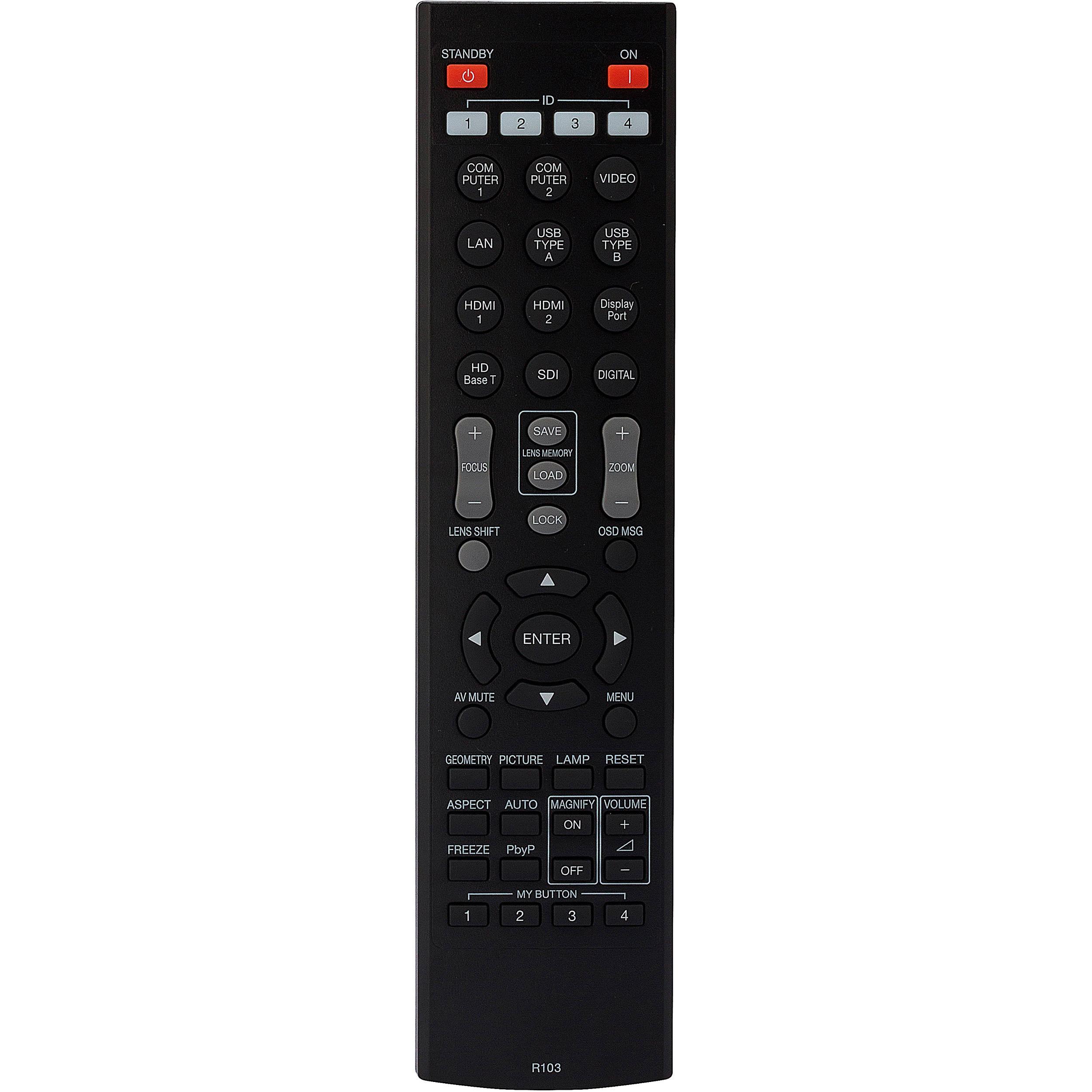 hitachi remote. hitachi hl02805 replacement remote control for select projectors f