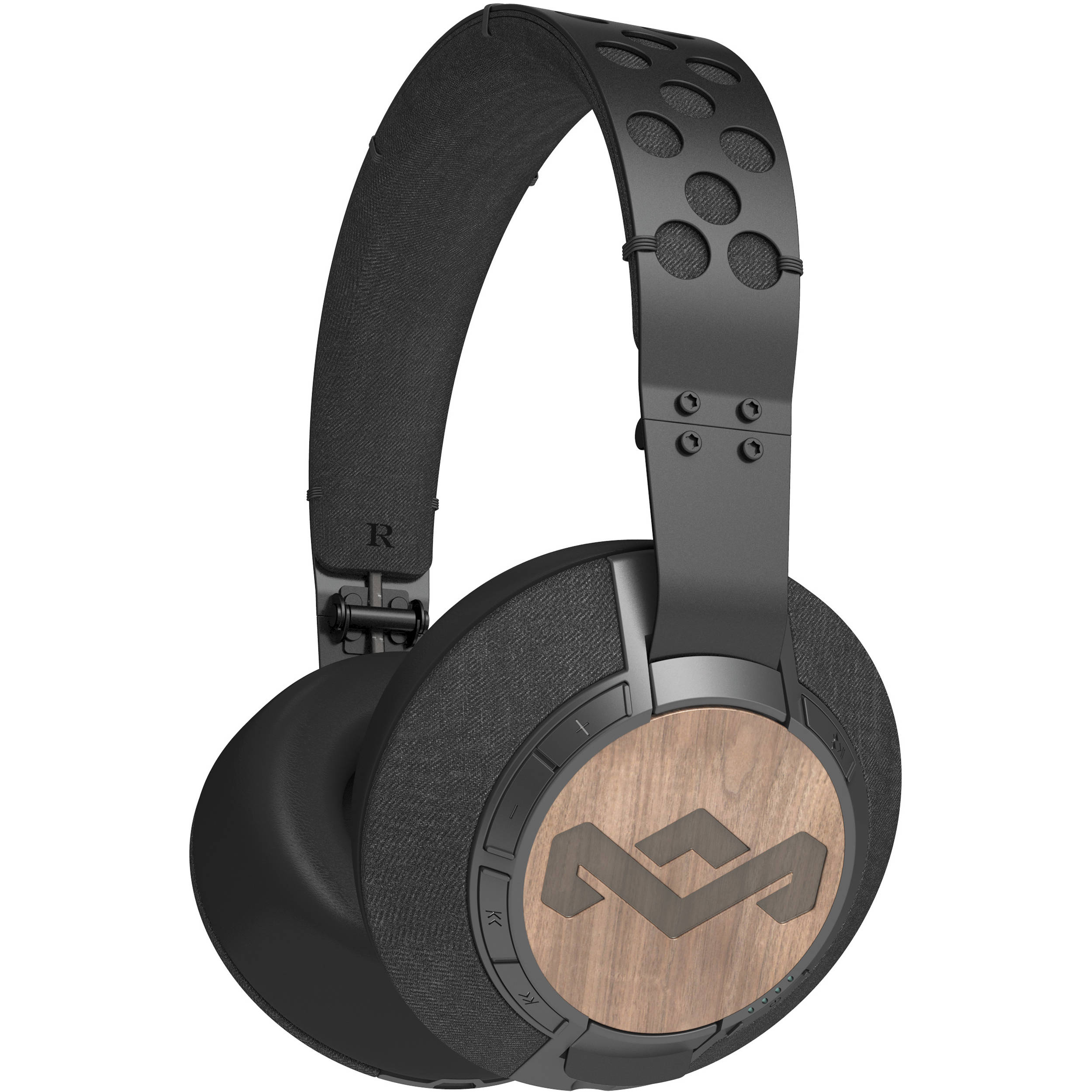 Attractive House Of Marley Liberate XLBT Bluetooth Headphones (Midnight)