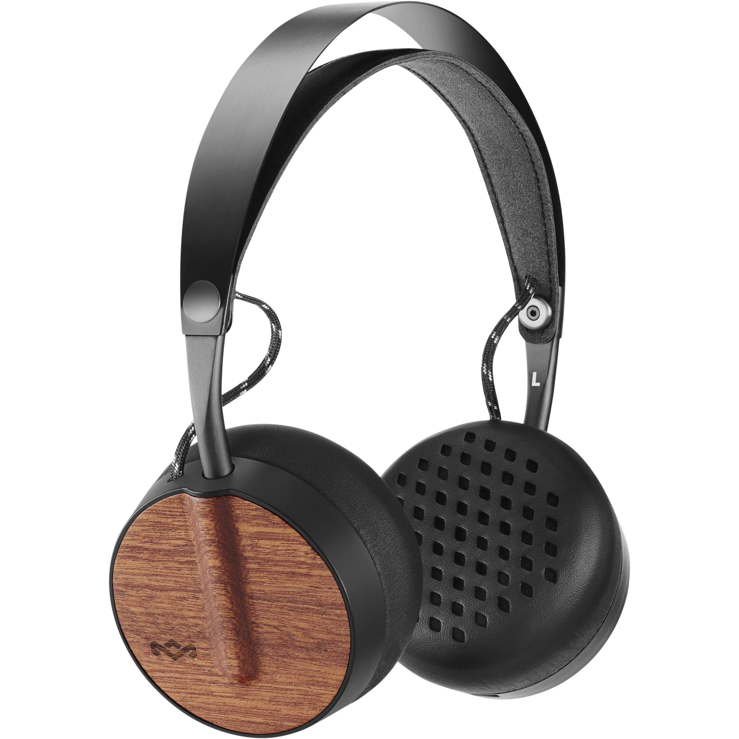 Wireless bluetooth headphones marley - headphones bluetooth wireless mic