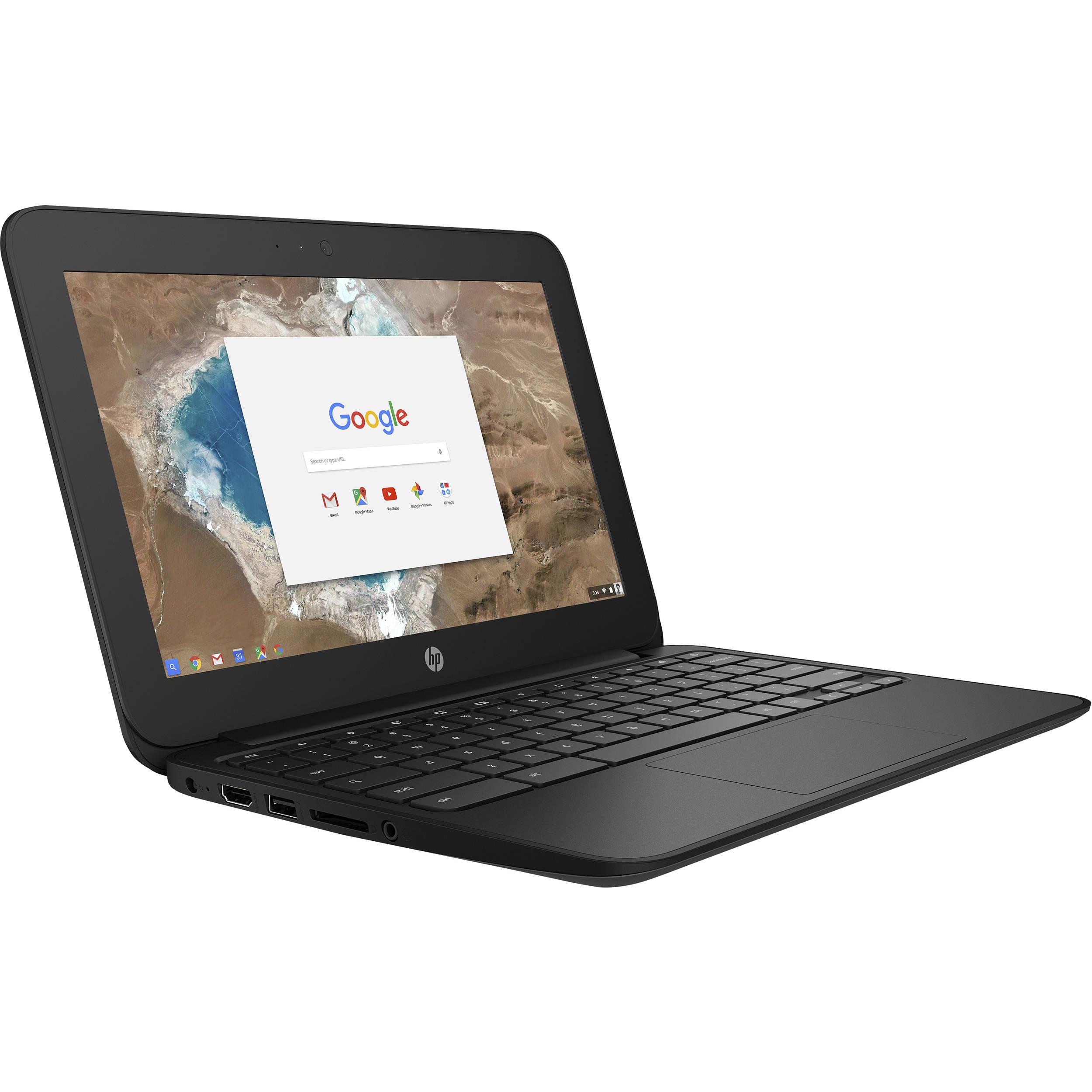 "HP 11.6"" 16GB Multi-Touch Chromebook 11 G5 1FX81UT#ABA B&H"