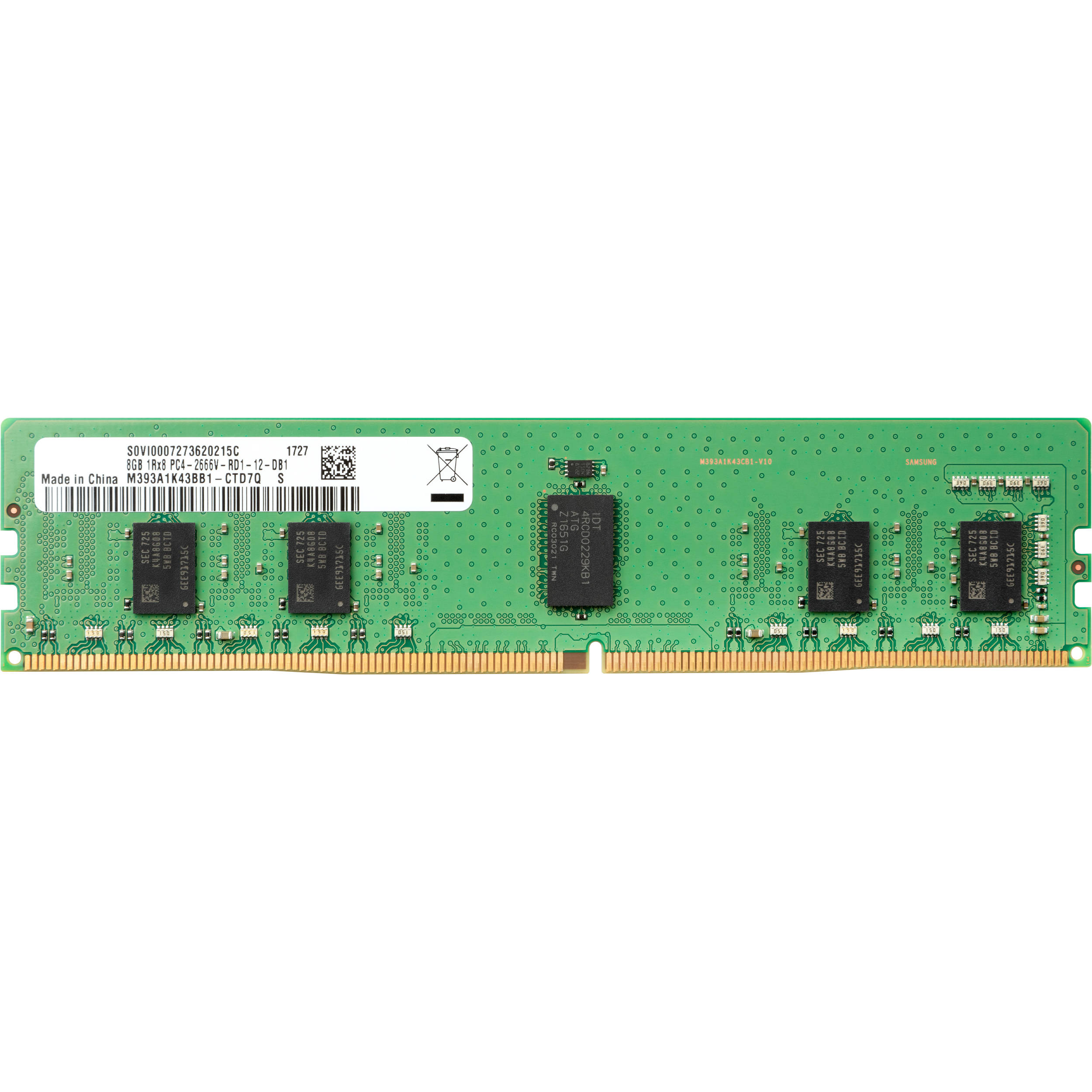Hp 8gb Ddr4 2666 Mhz Dimm Memory Module 3pl81aa Bh Photo Video Delay On Circuit B2b Electronic Components