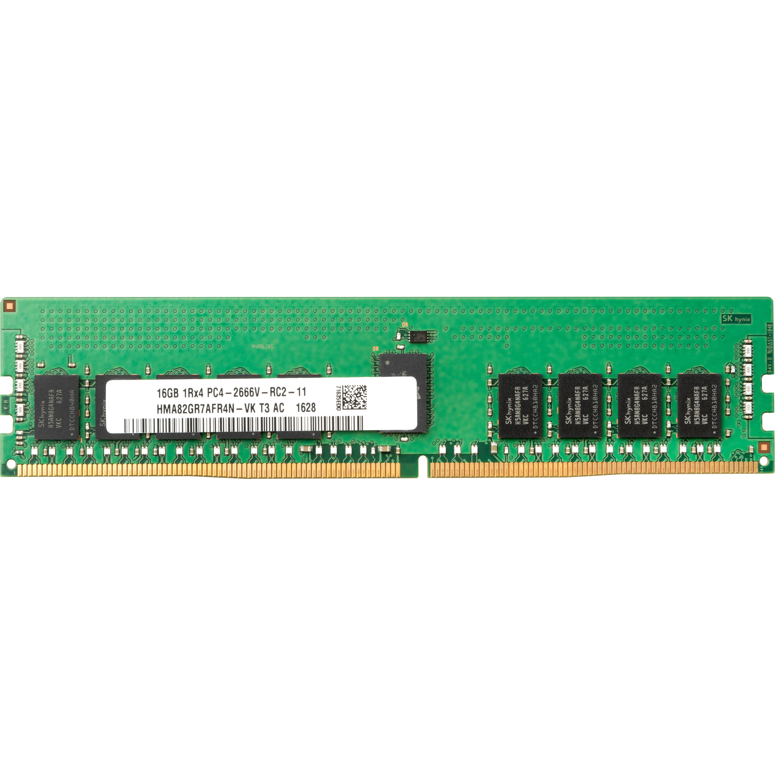 Hp 16gb Ddr4 2666 Mhz Dimm Memory Module 3pl82aa Bh Photo Video Delay On Circuit B2b Electronic Components