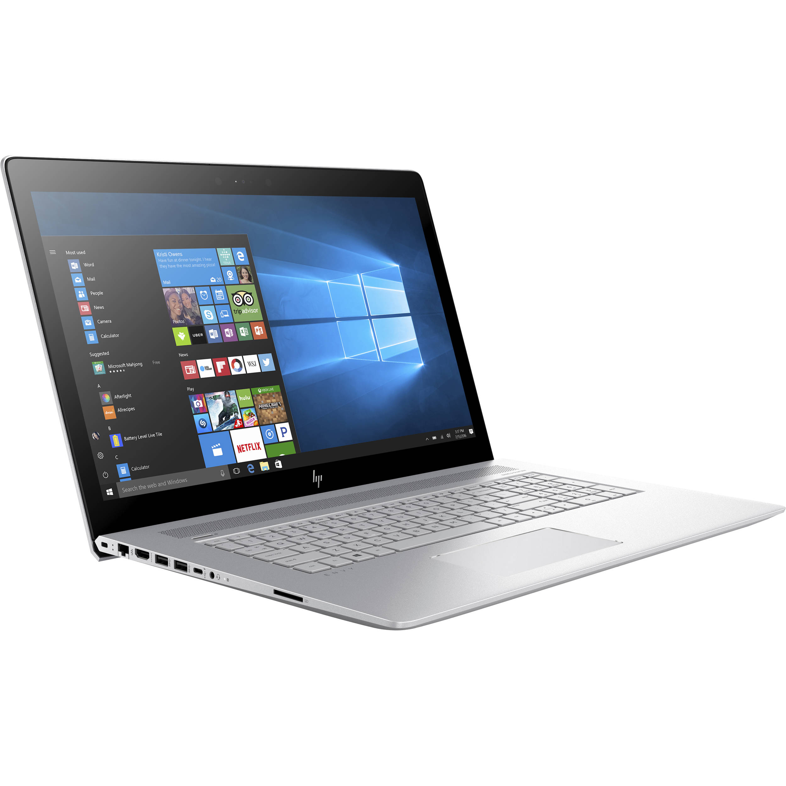 "HP 17.3"" ENVY 17-ae110nr Multi-Touch Laptop"