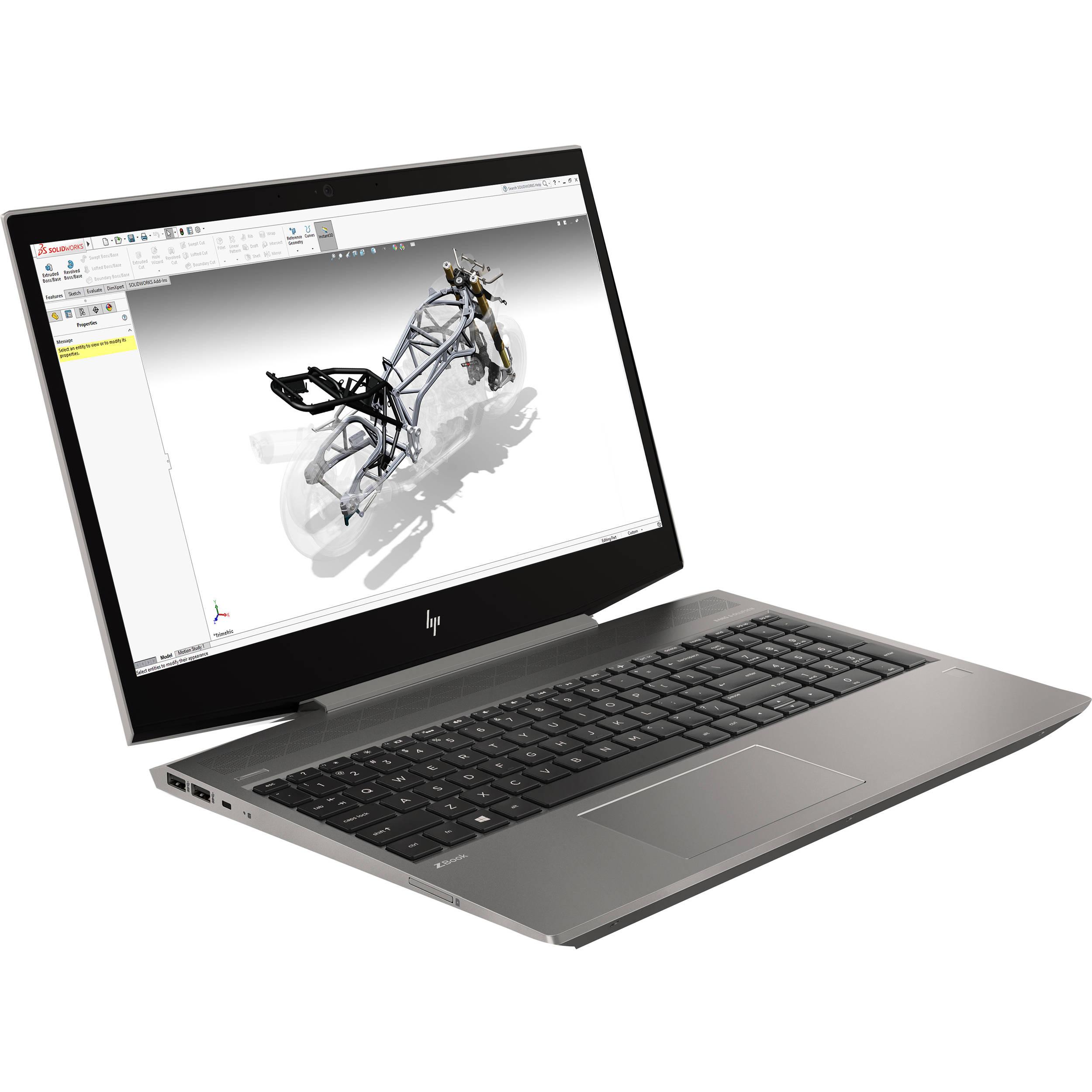 HP 17.3 ZBook 17 G3 Mobile Workstation V1Q05UT#ABA B&H Photo