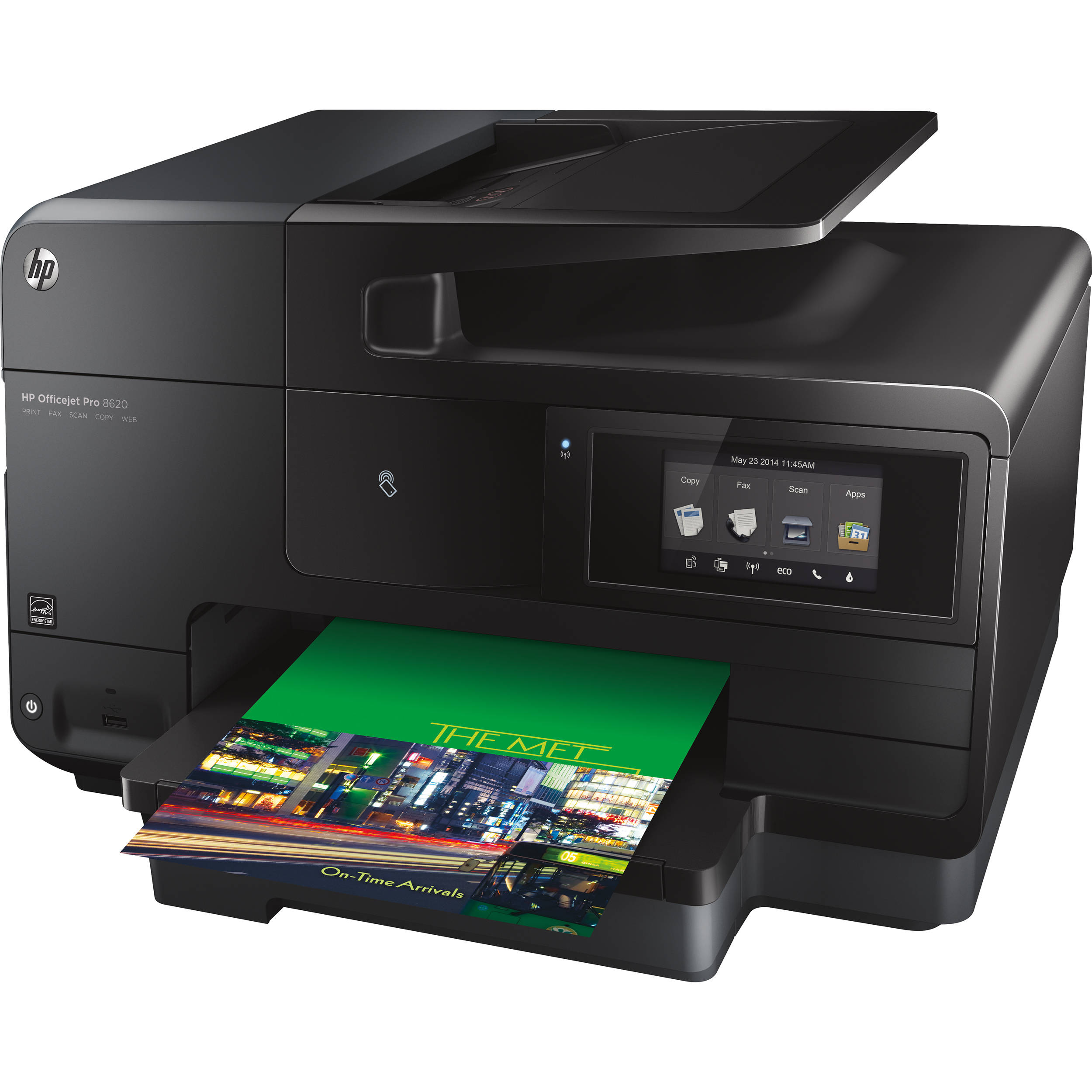 HP Officejet Pro 8620 e-All-in-One Wireless Color A7F65A# ...