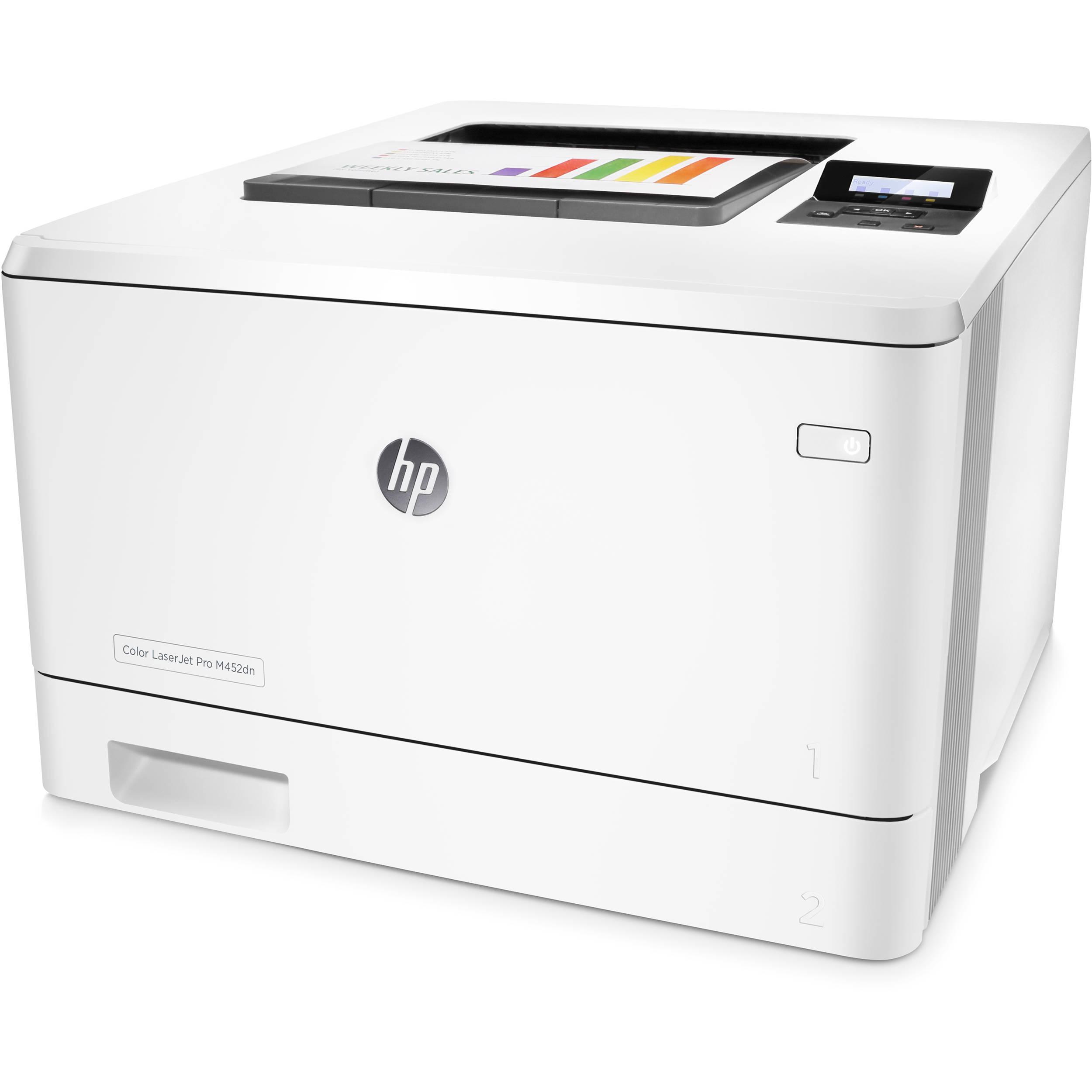 Hp hp color laser printers 11x17 - Hp Color Laserjet Pro M452dn Laser Printer