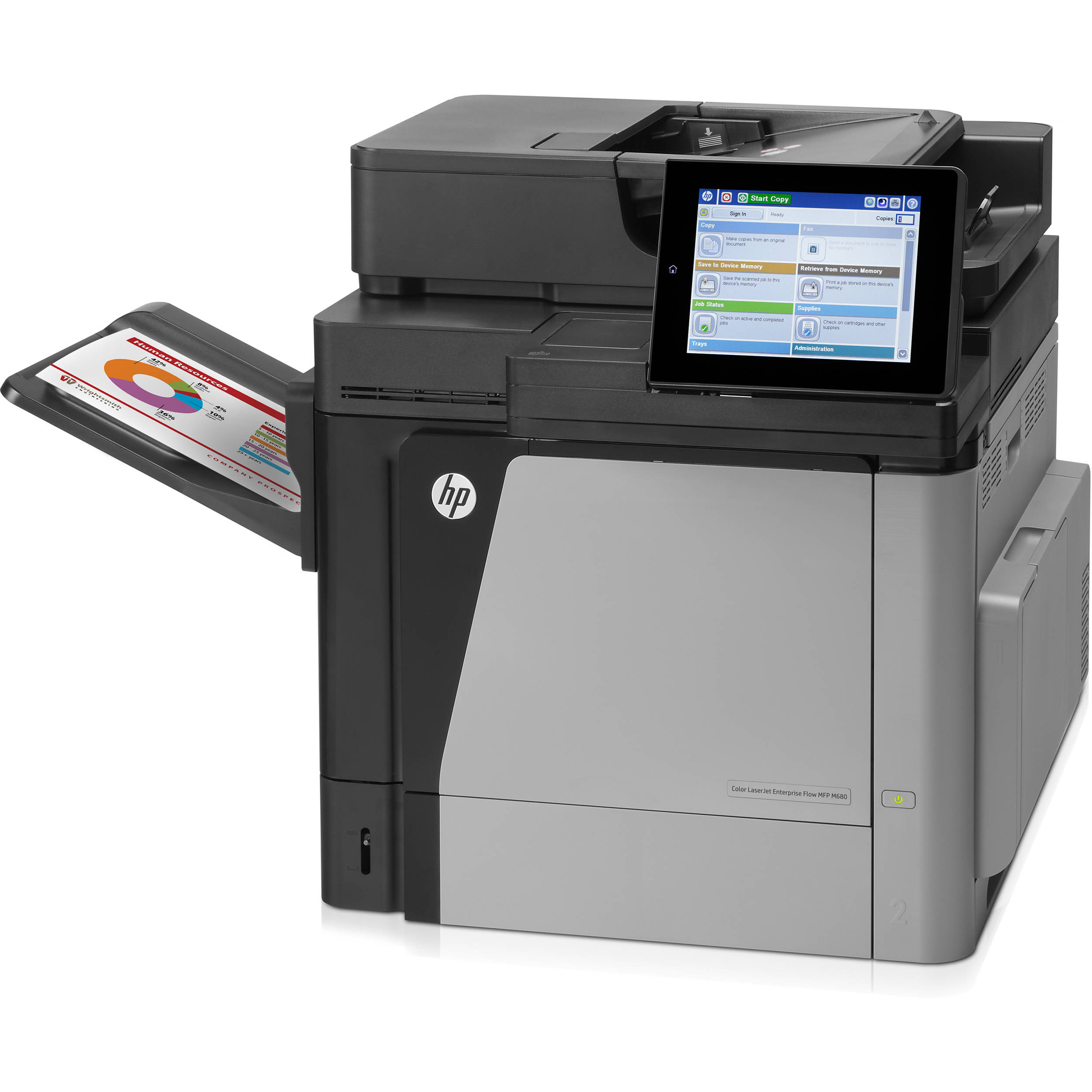 hp color laserjet enterprise m680dn all in one laser cz248a bgj