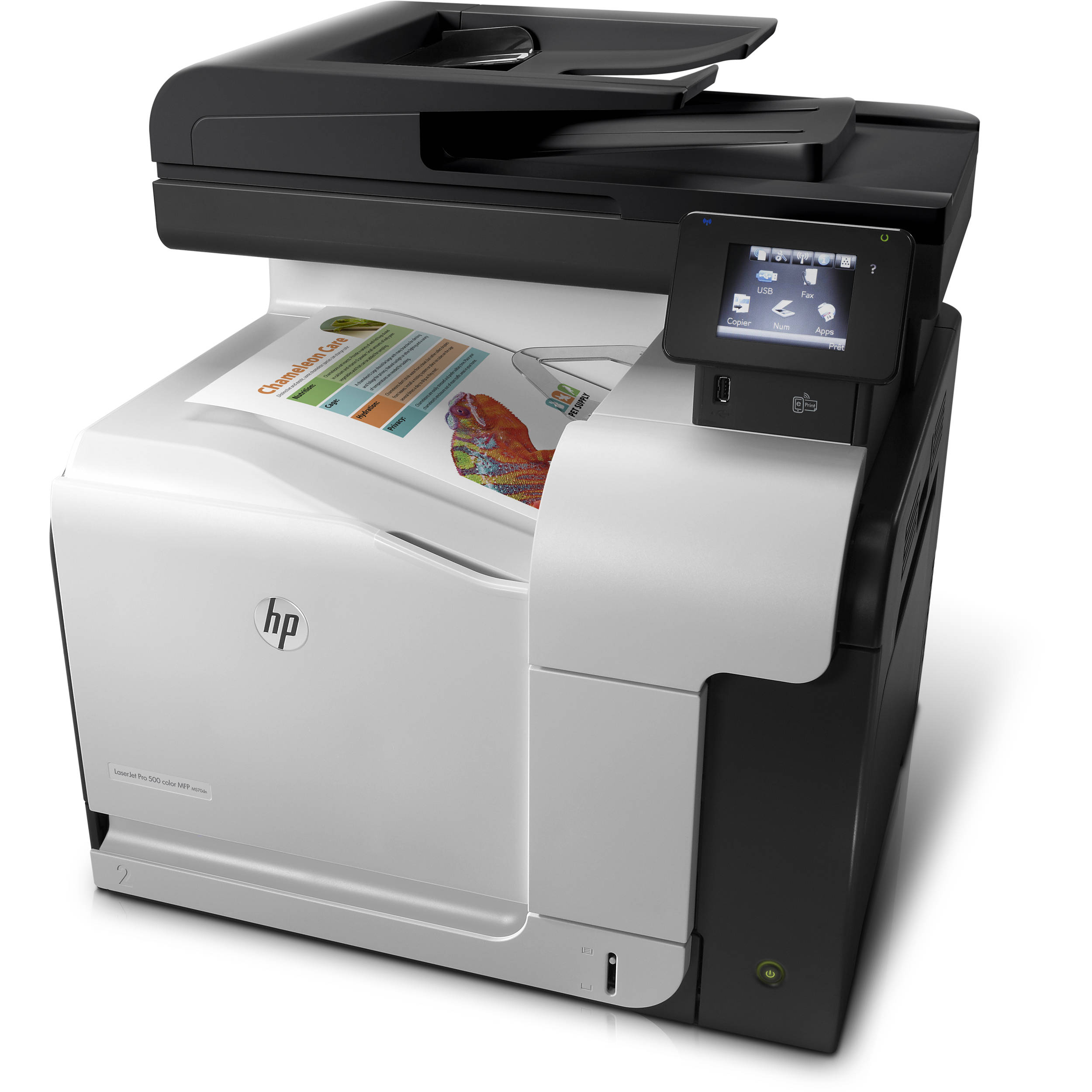Color printers laser - Hp M570dn Laserjet Pro 500 All In One Color Laser Printer
