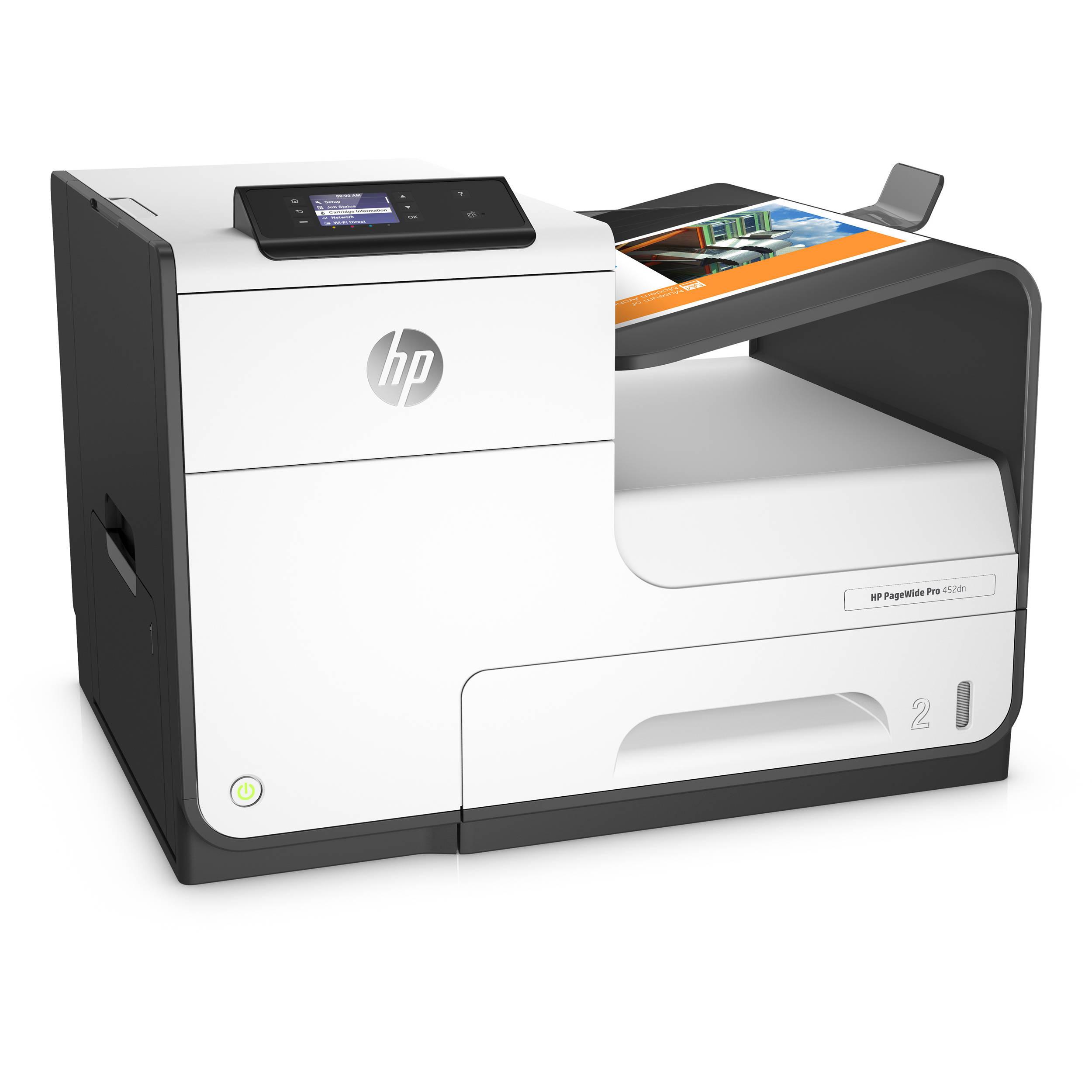 Hp Pagewide Pro 452dn Inkjet Printer D3q15a B1h B Amp H Photo