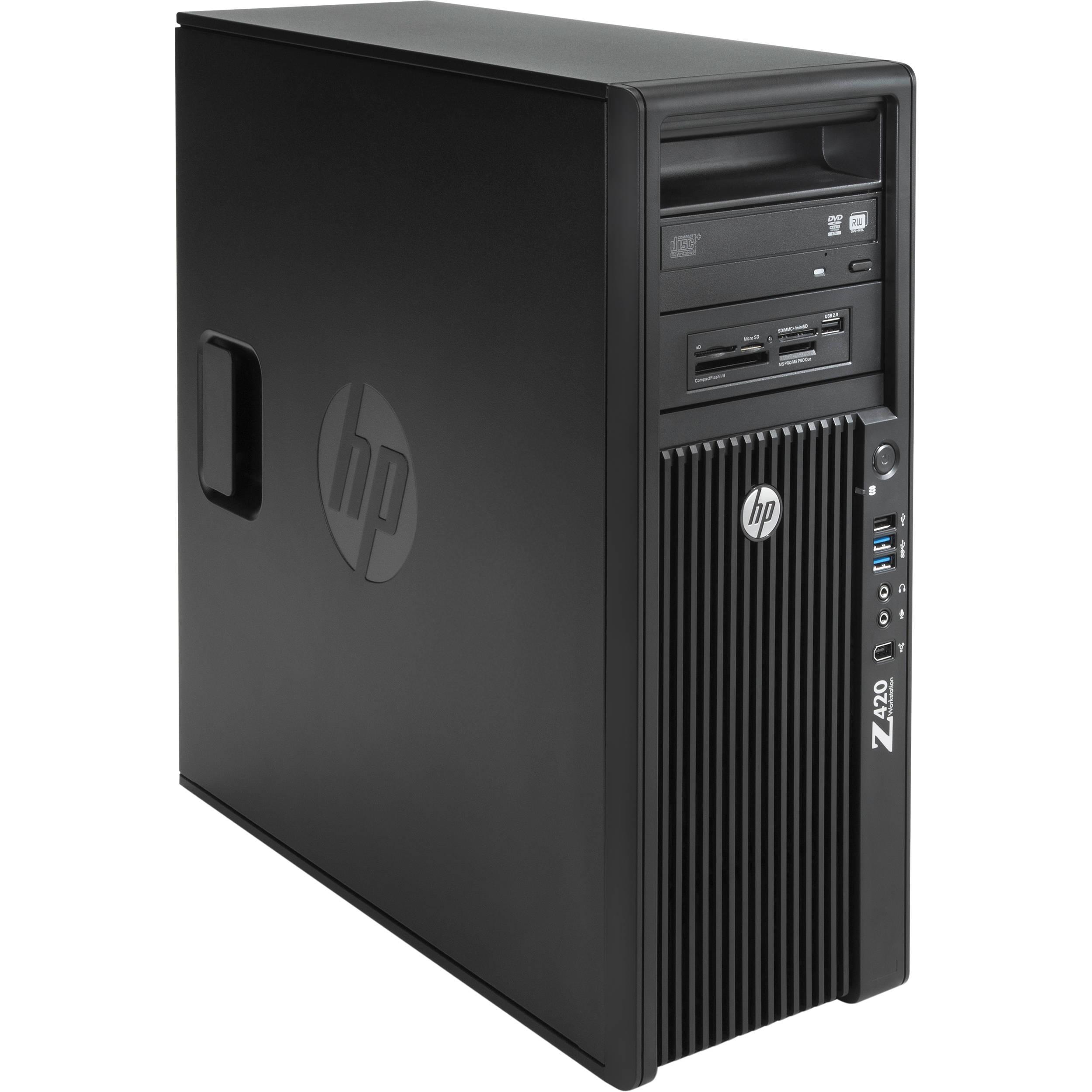 Máy trạm HP Workstation Z420, lựa chọn tối ưu cho các công việc về thiết kế