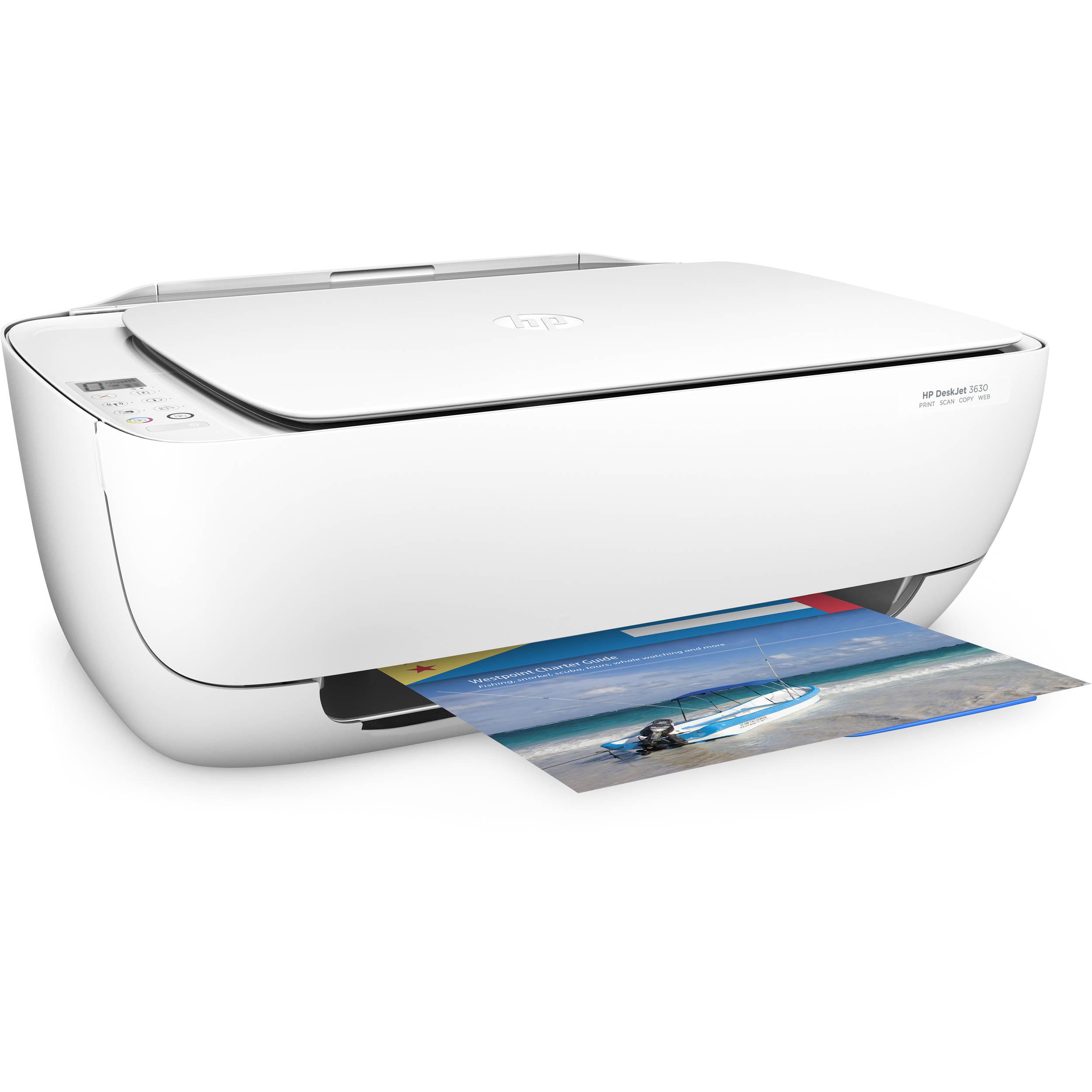 HP DeskJet 3630 All-in-One Inkjet Printer F5S57A#B1H B&H Photo