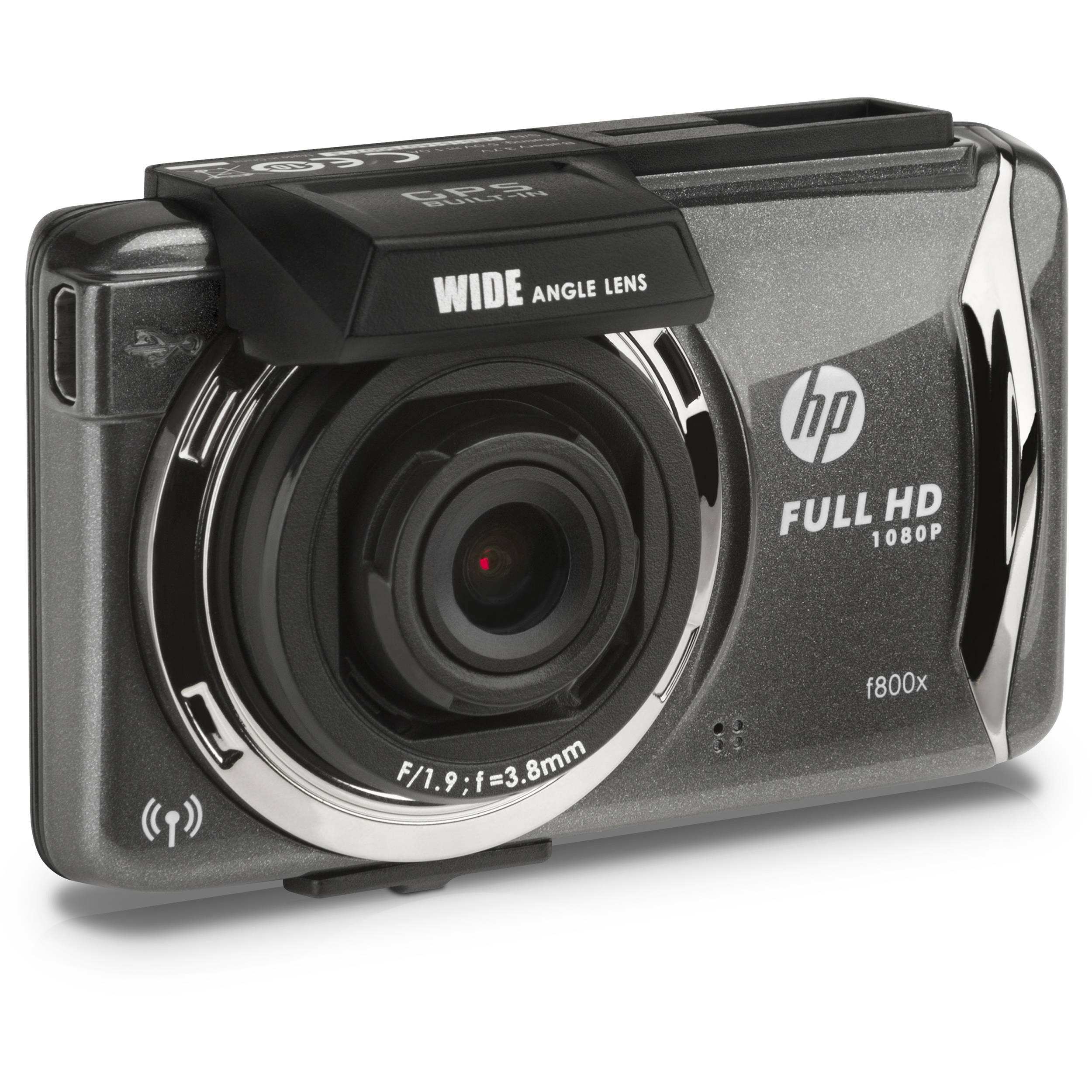 HP Full HD 1080p Car Dashboard Camcorder with GPS and Wi-Fi
