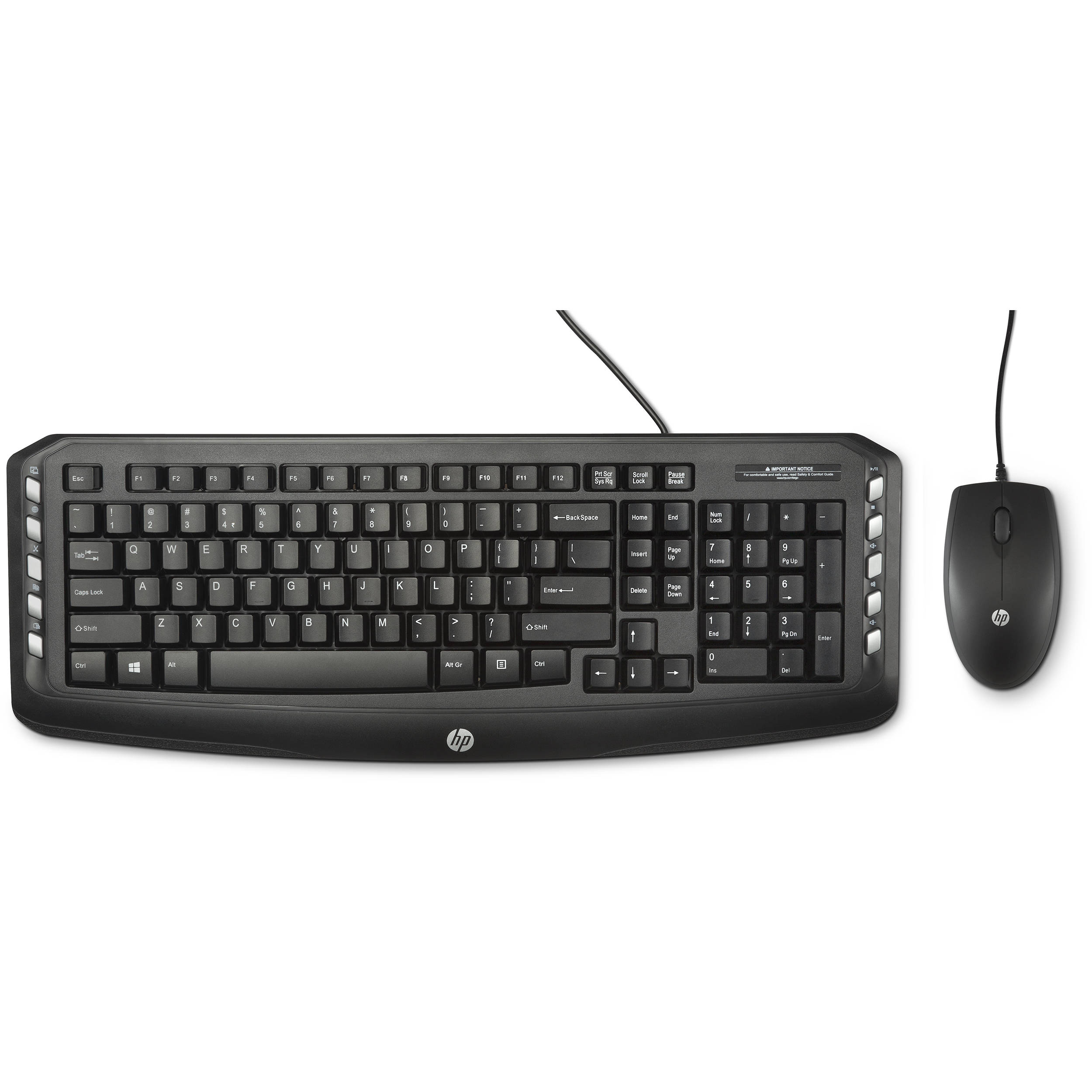 HP C2600 Wired Keyboard And Mouse