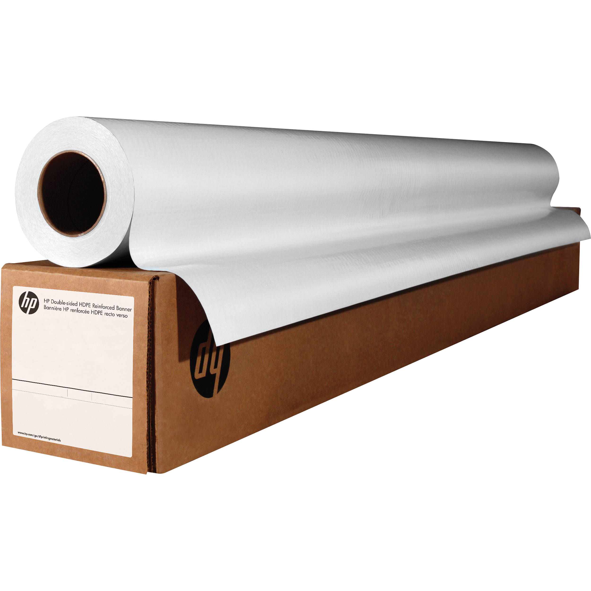 Hp Permanent Adhesive Vinyl Glossy 36 Quot X 150 Roll