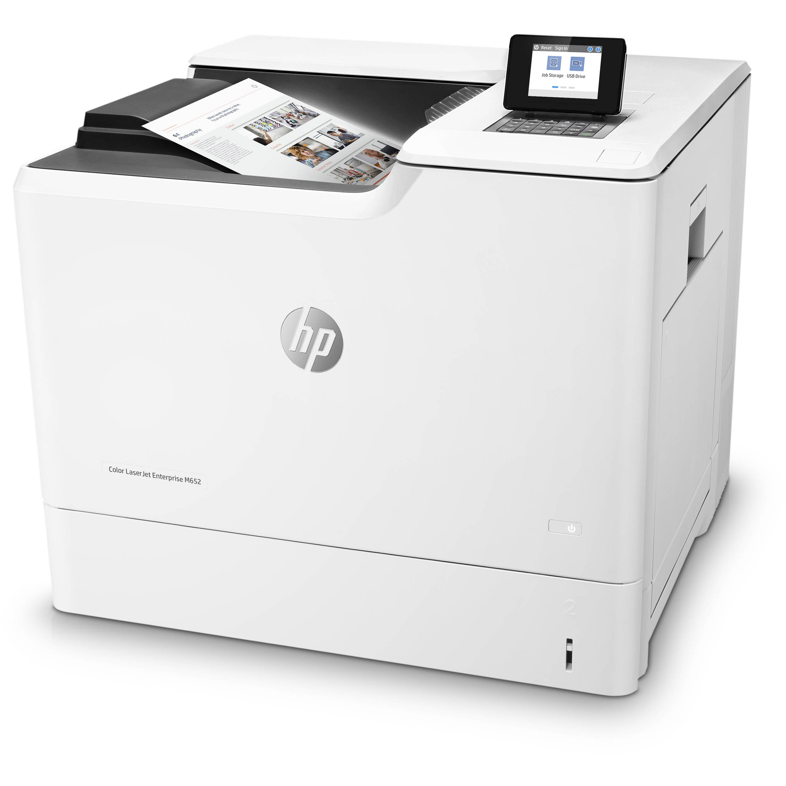 HP Color LaserJet Enterprise M652n Laser Printer J7Z98A B&H