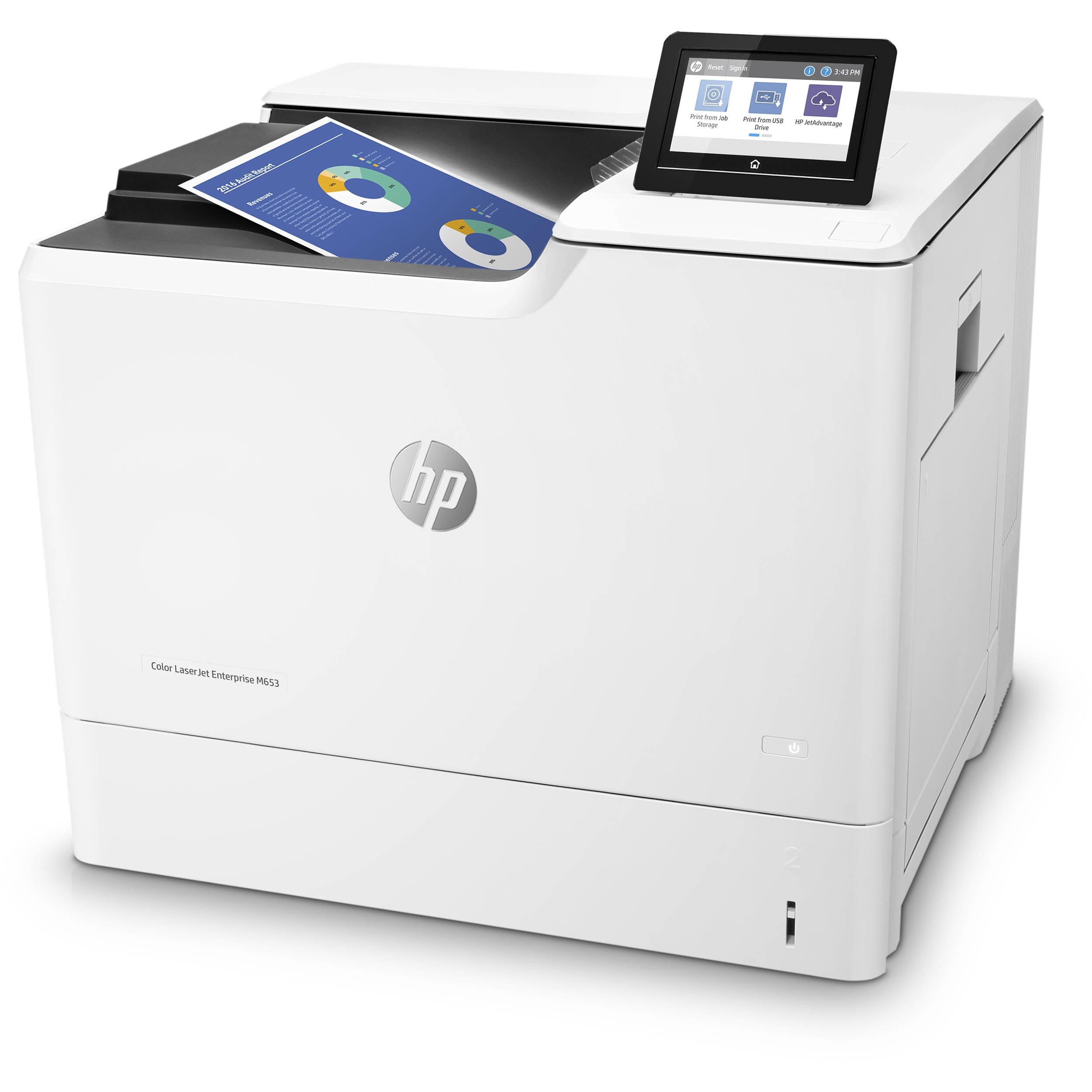 HP Color LaserJet Enterprise M653x Laser Printer