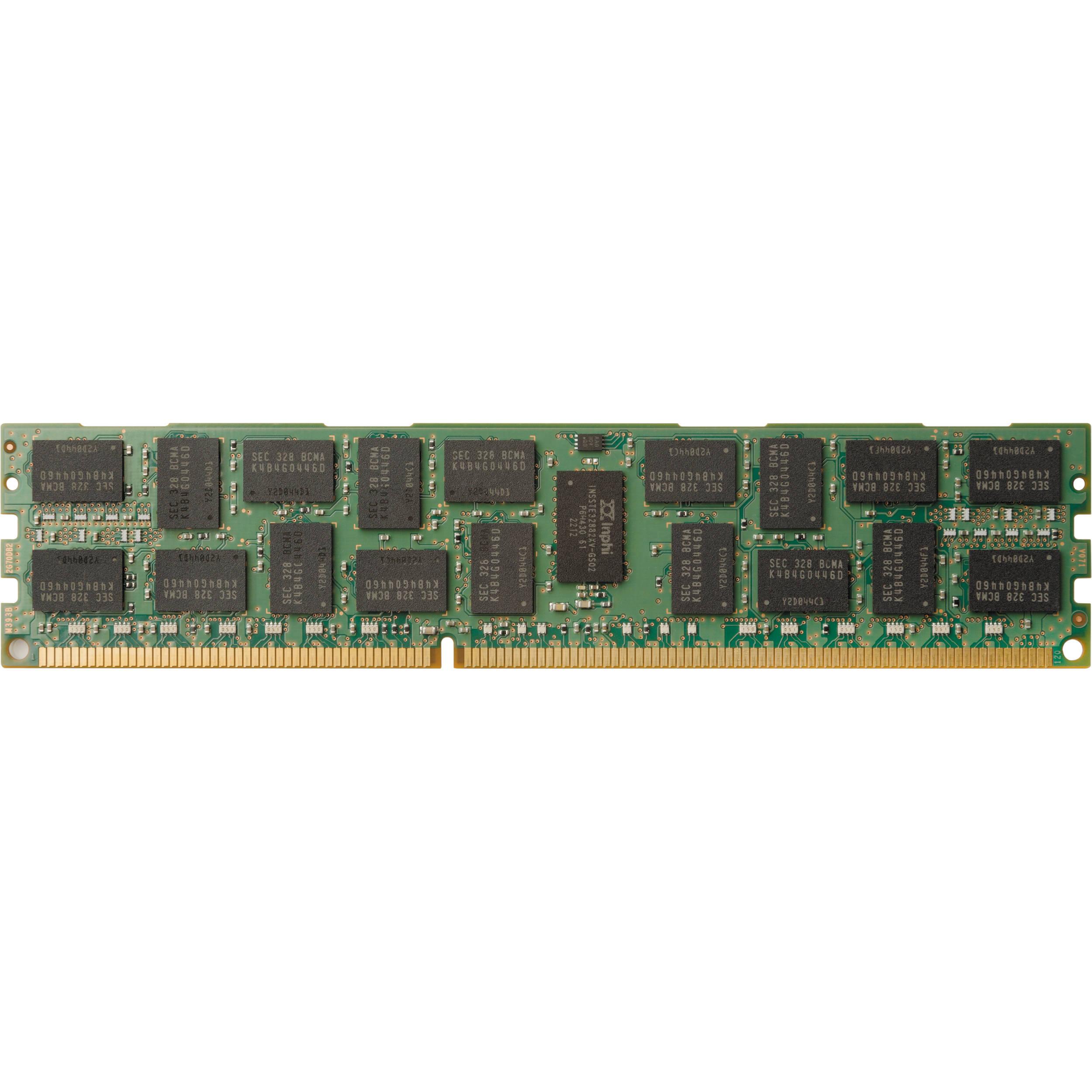 hp 8gb ddr4 2133 mhz rdimm memory module promo j9p82at b h. Black Bedroom Furniture Sets. Home Design Ideas