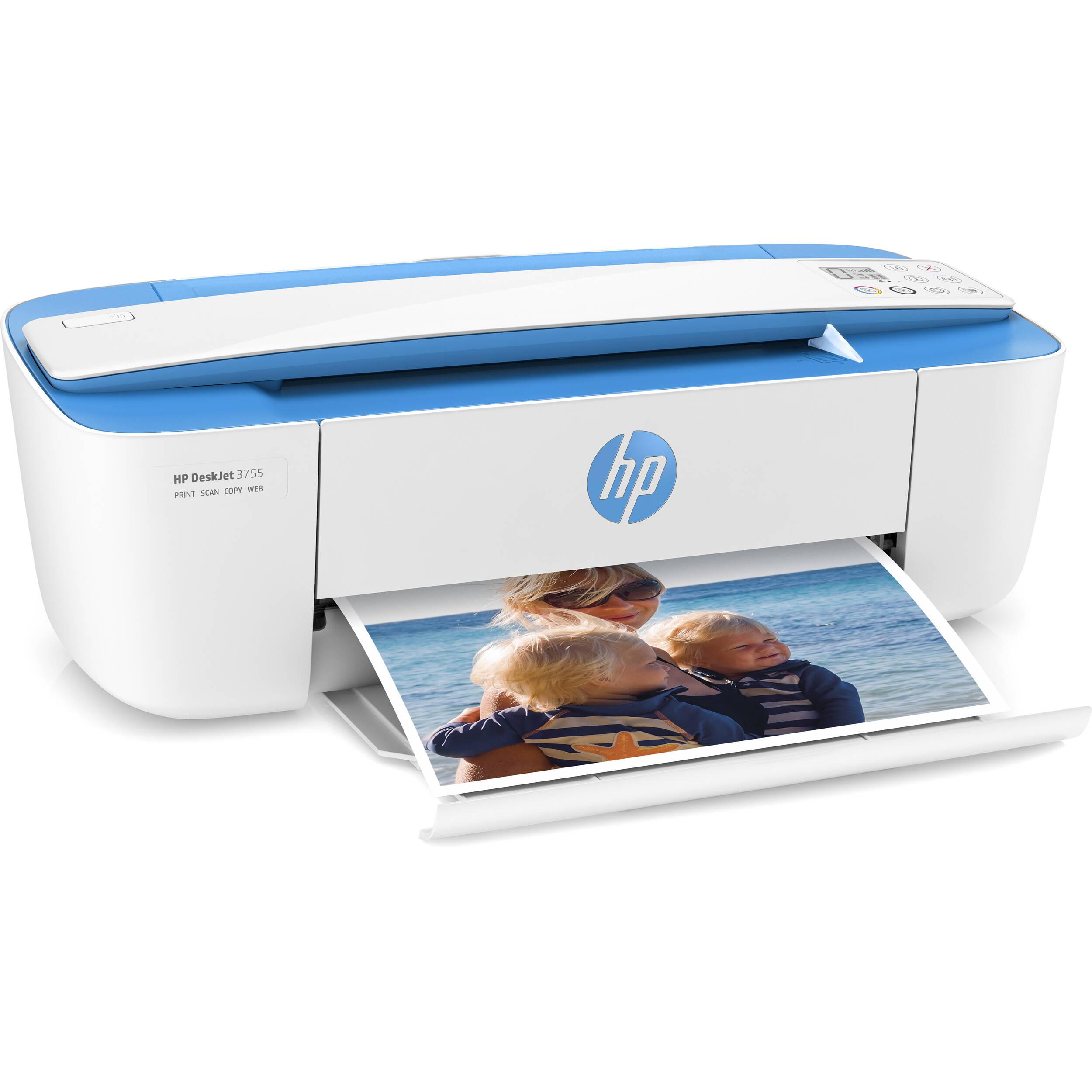 Hp Deskjet 3755 All In One Inkjet Printer Blue J9v90a