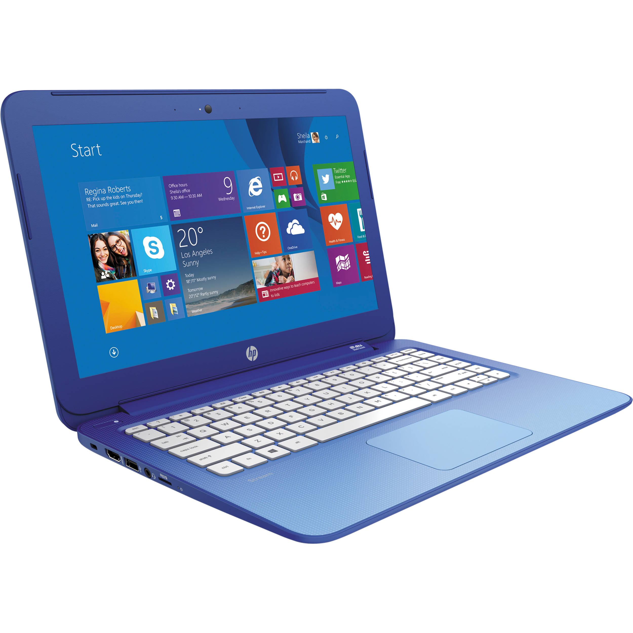 Hp Stream 13 3 Quot 13 C010nr Laptop Notebook Computer K2l96ua Aba B Amp H