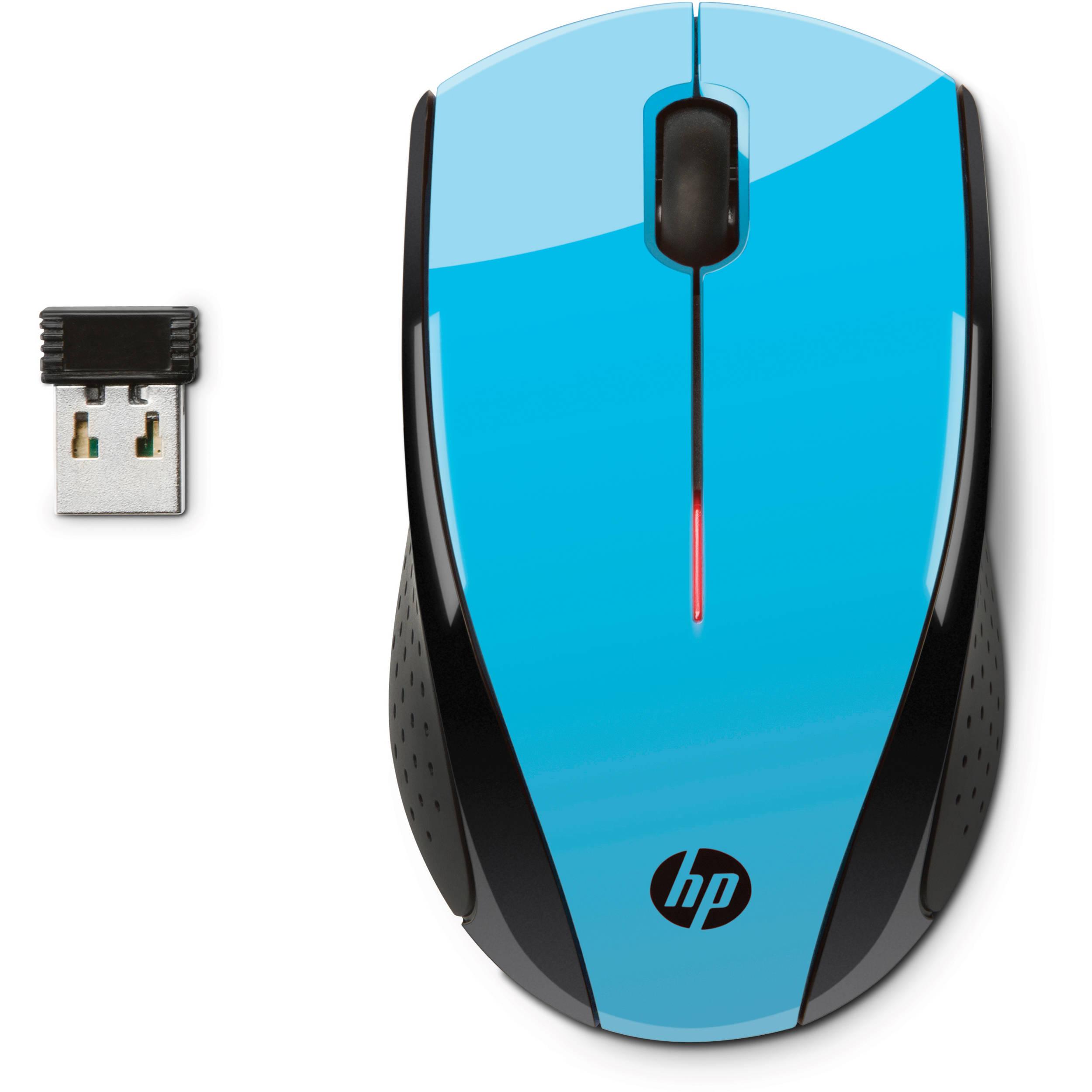 5bcdd56292a HP X3000 Wireless Mouse (Blue) K5D27AA#ABL B&H Photo Video