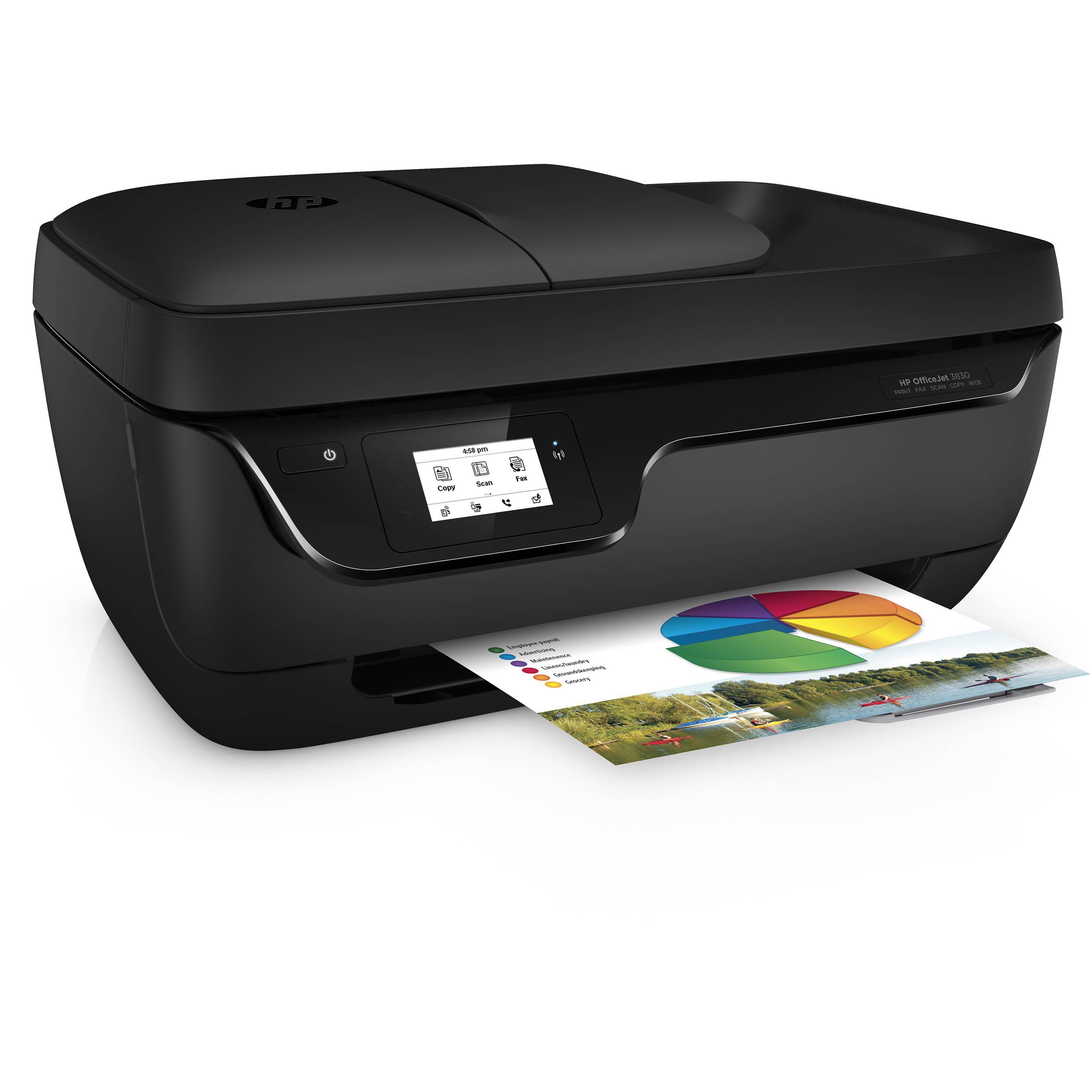 מגניב HP OfficeJet 3830 All-in-One Printer K7V40A#B1H B&H Photo Video UK-52