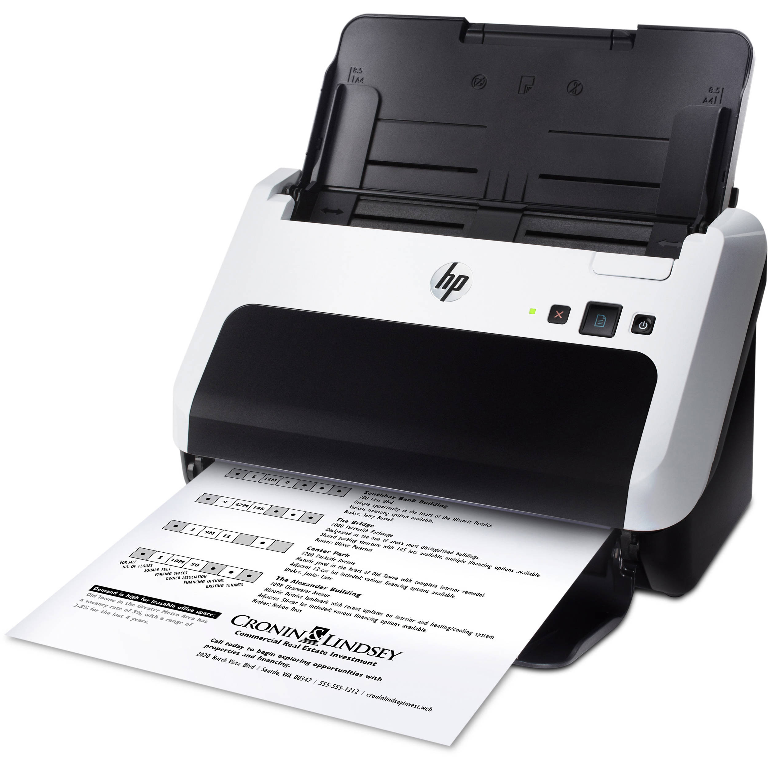 hp scanjet pro 3000 s2 sheet feed scanner l2737a bgj b h photo rh bhphotovideo com HP Scanjet 3000 Review HP Scanjet 3000 S2