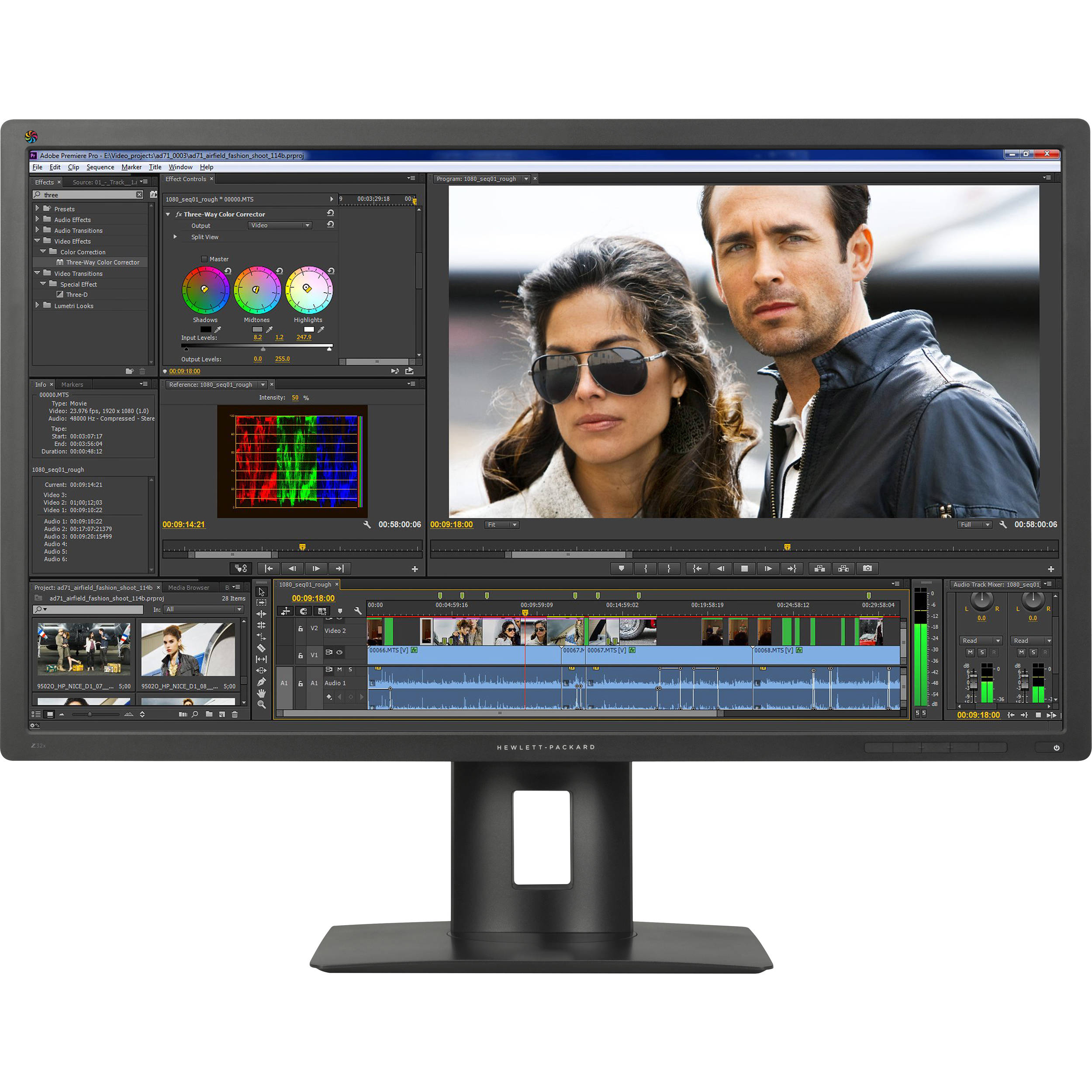 HP DreamColor Z32x UHD Display